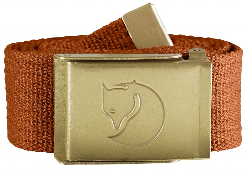 FjallRaven Canvas Brass Belt 4 cm. Autumn Leaf-30