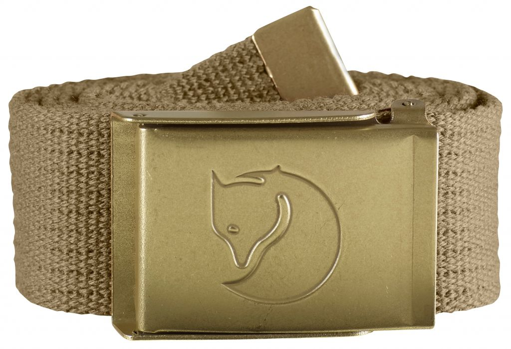 FjallRaven Canvas Brass Belt 4 cm. Sand-30