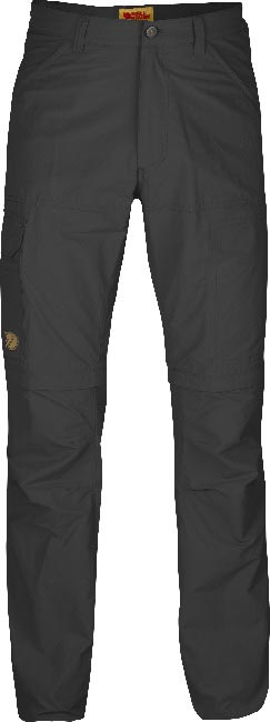 FjallRaven Cape Point MT Zip-Off Trousers Dark Grey-30