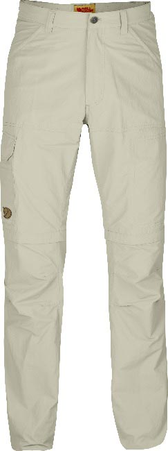 FjallRaven Cape Point MT Zip-Off Trousers Light Beige-30