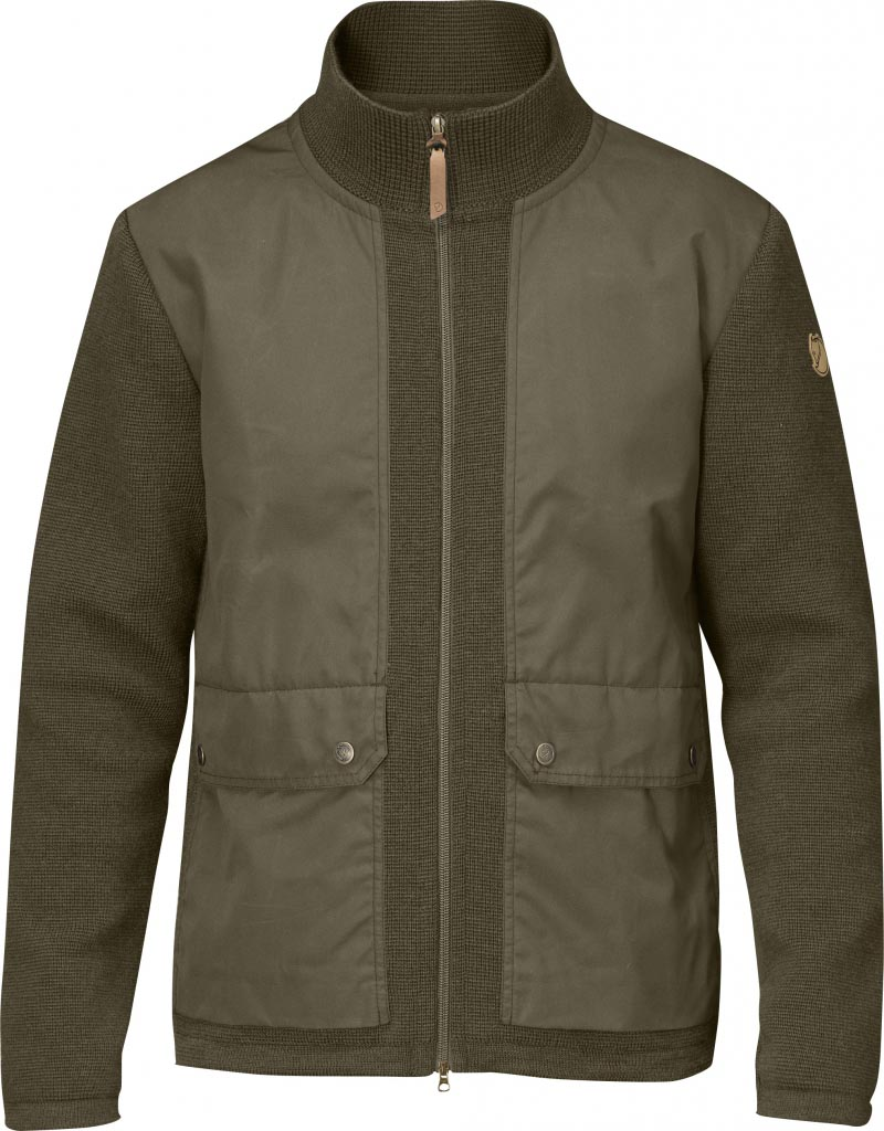 FjallRaven Cardigan No.4 Dark Olive-30