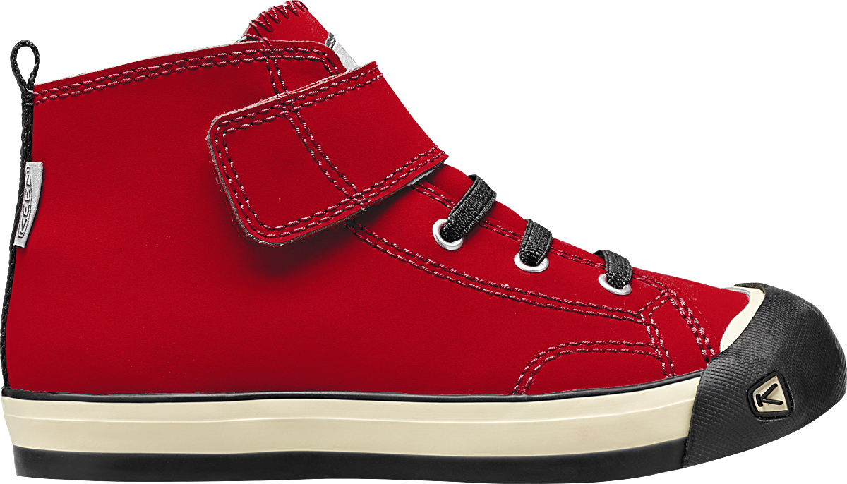 Keen Coronado High Top Leather Ribbon Red/Raven-30