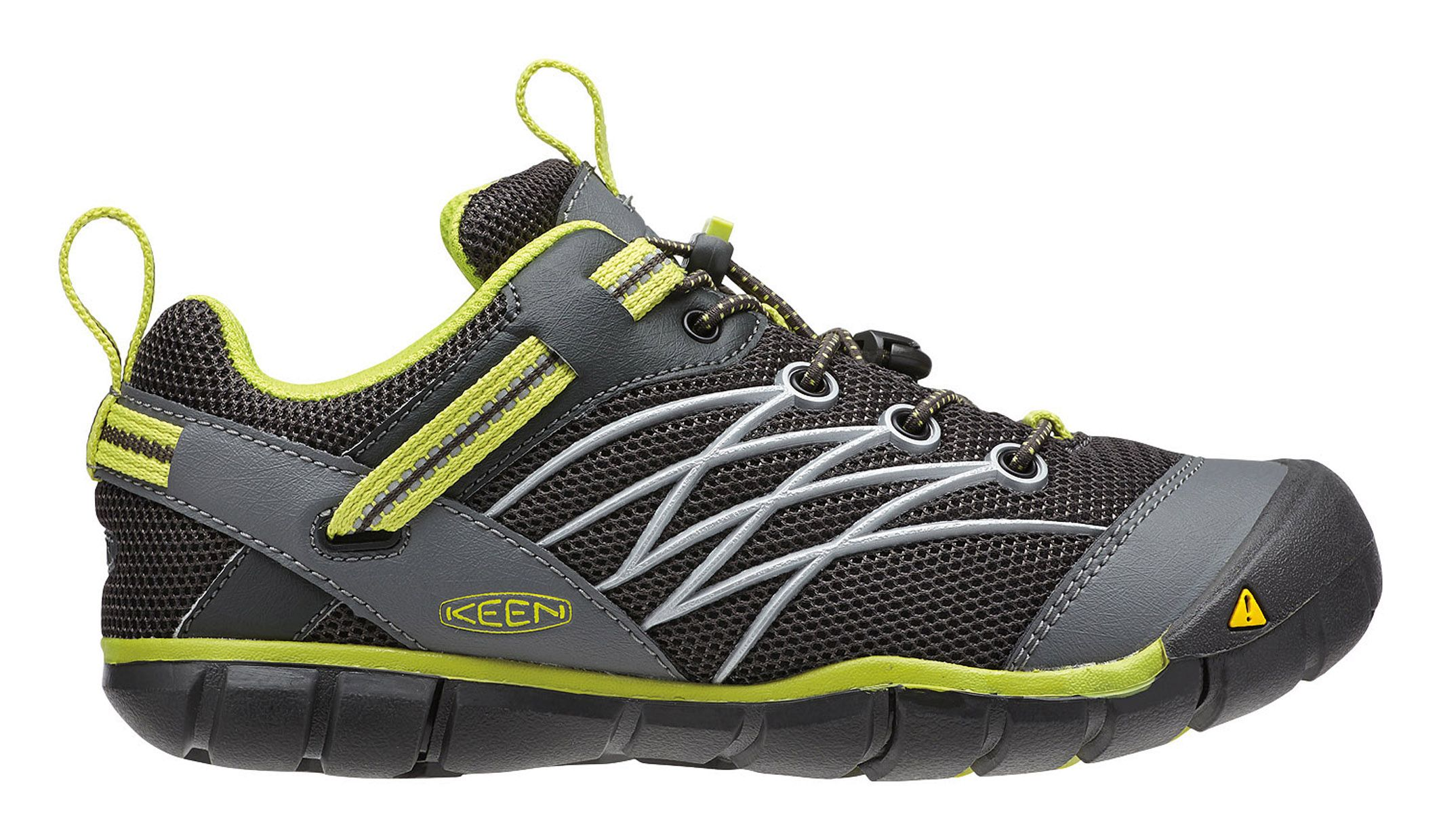 Keen Chandler CNX Raven/Bright Chartreuse-30