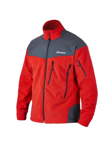 Berghaus Men´s Choktoi Fleece Jacket Extrem Red/Carbon-30