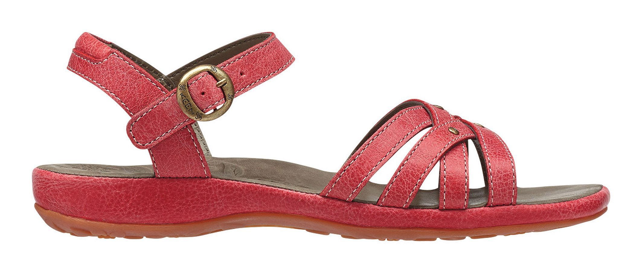 Keen City Of Palms Sandal Ribbon Red-30