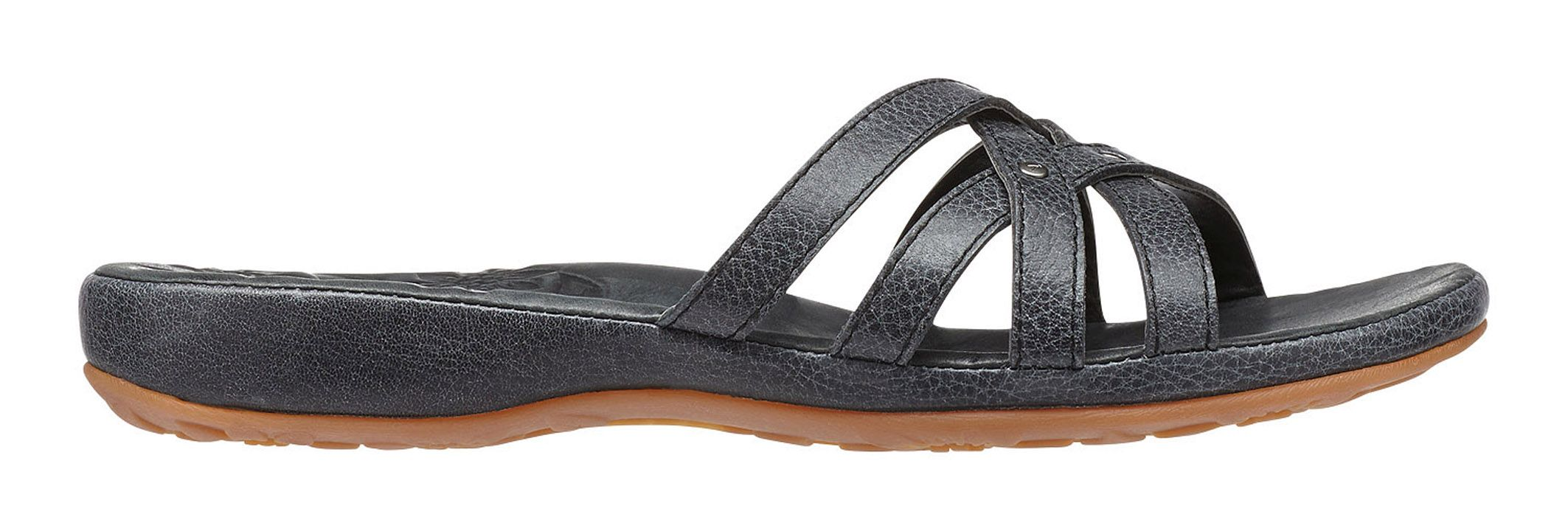 Keen City Of Palms Slide Solid Black-30