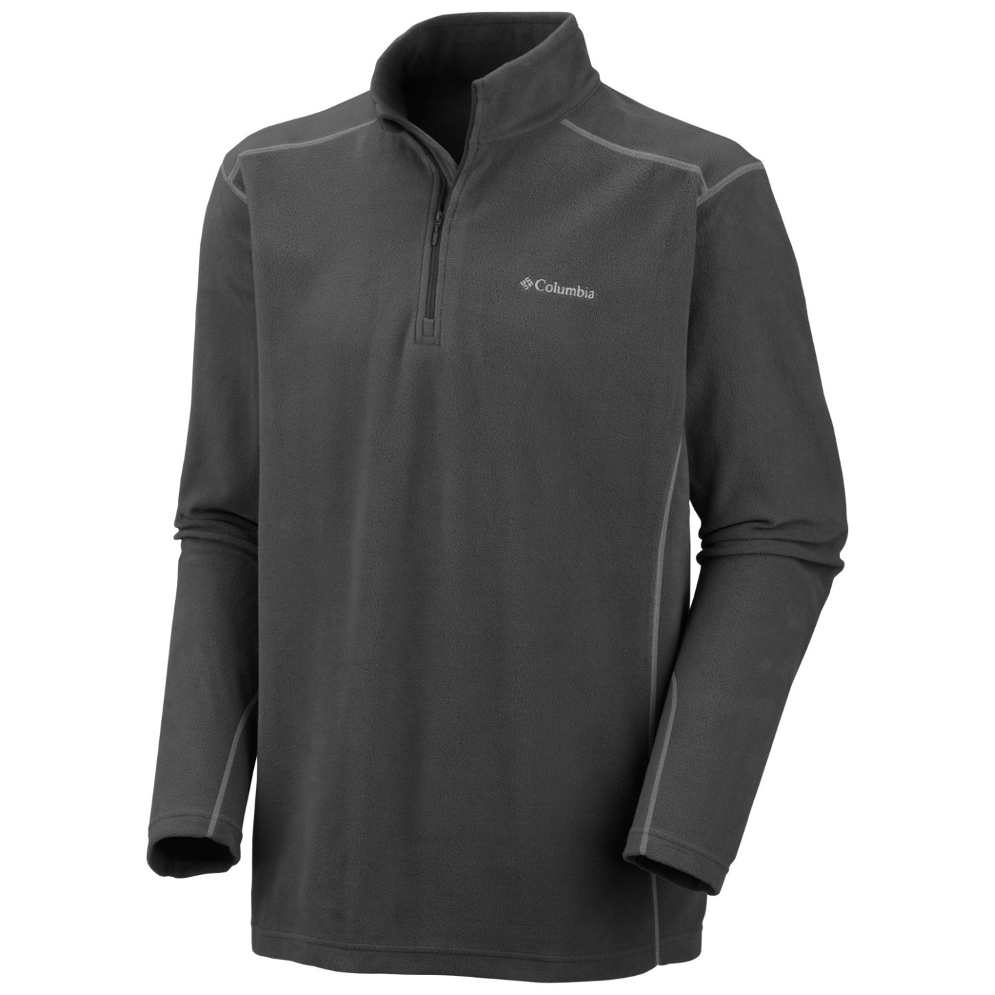 Columbia Men's Klamath Range II Half Zip Charcoal-30