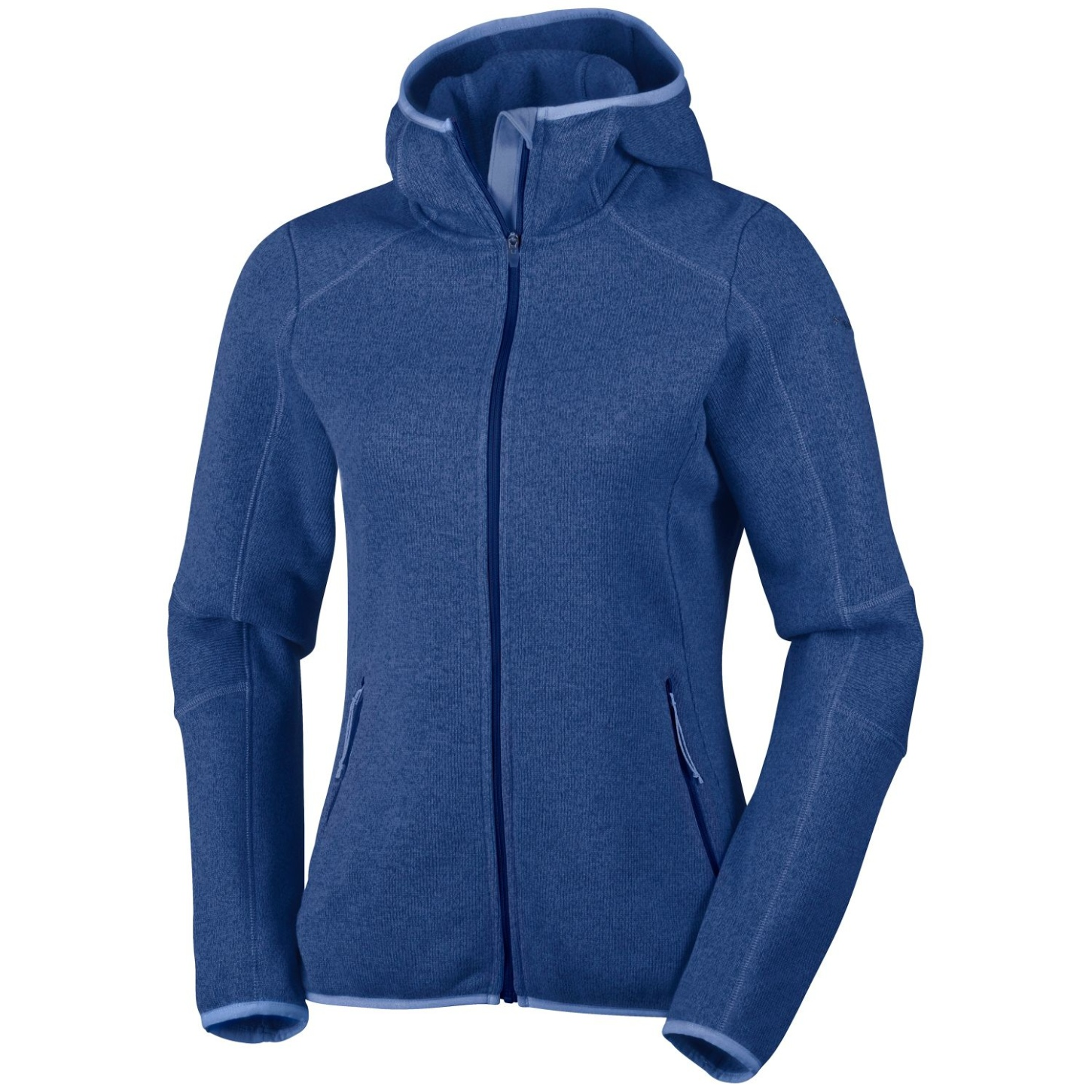 Columbia Women's Altitude Aspect Hooded Fleece Nocturnal Heather-30
