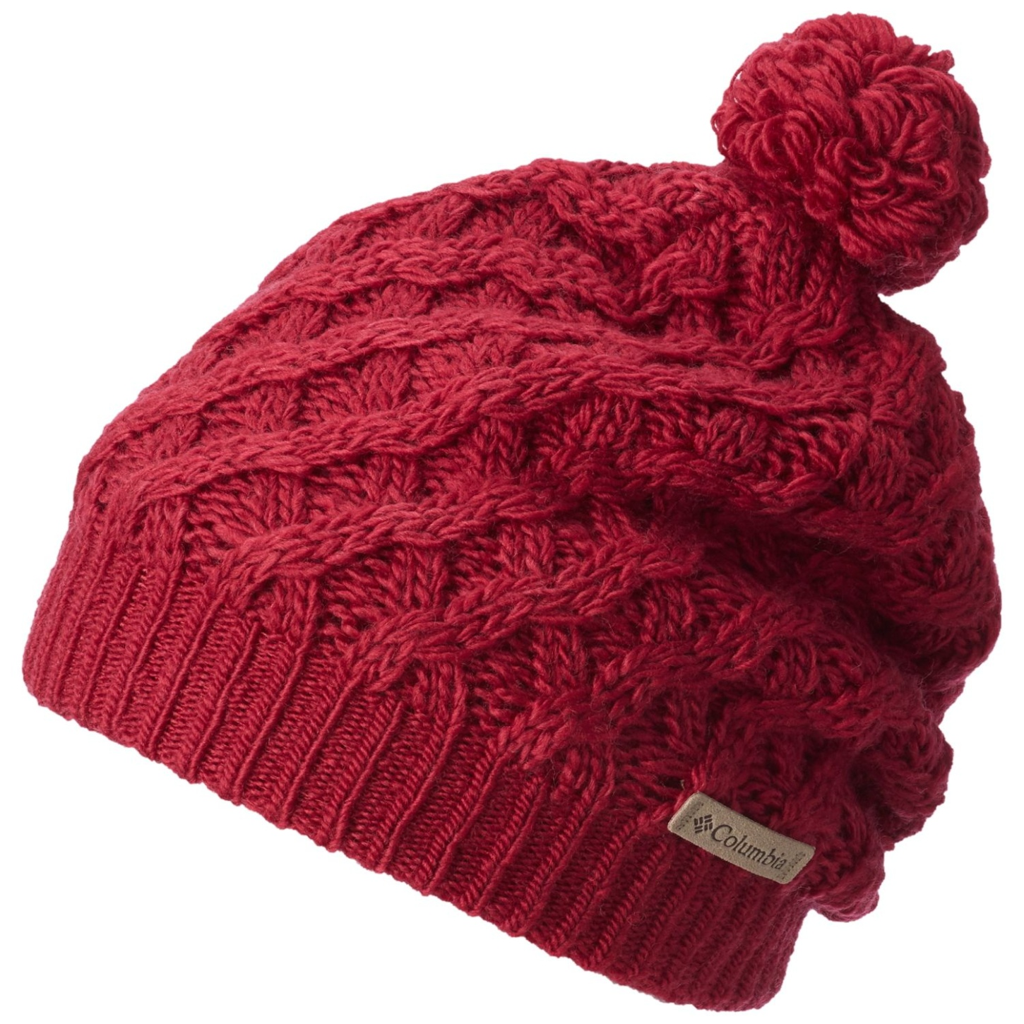 Columbia Alpine Beauty Mütze für Damen Red Orchid-30