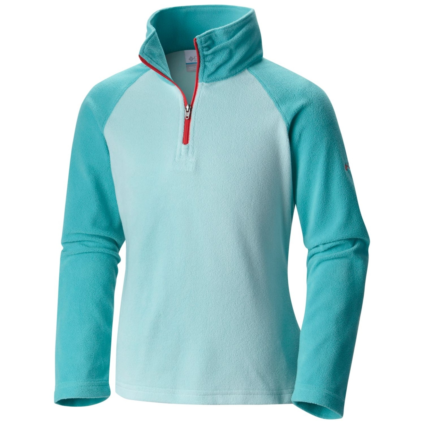 Columbia Girls Glacial Fleece Half Zip Spray, Miami-30