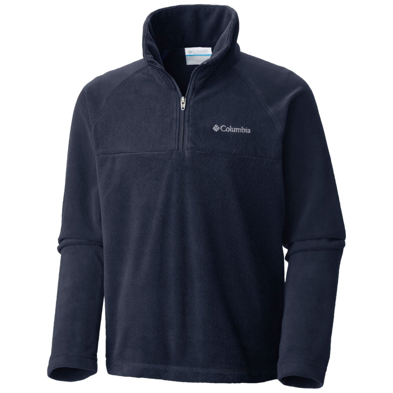 Columbia Boys' Glacial Half Zip Fleece Collegiate Navy-30