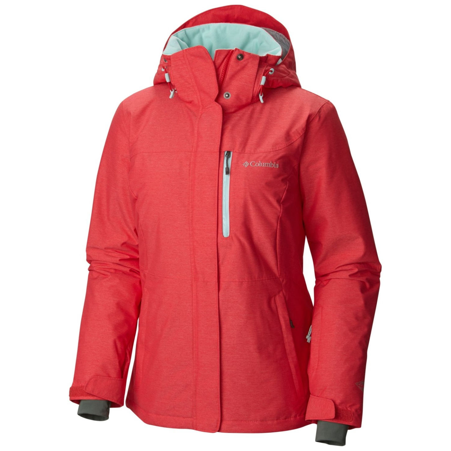 Columbia Women's Alpine Action Omni-Heat Ski Jacket Red Camellia, Spray-30