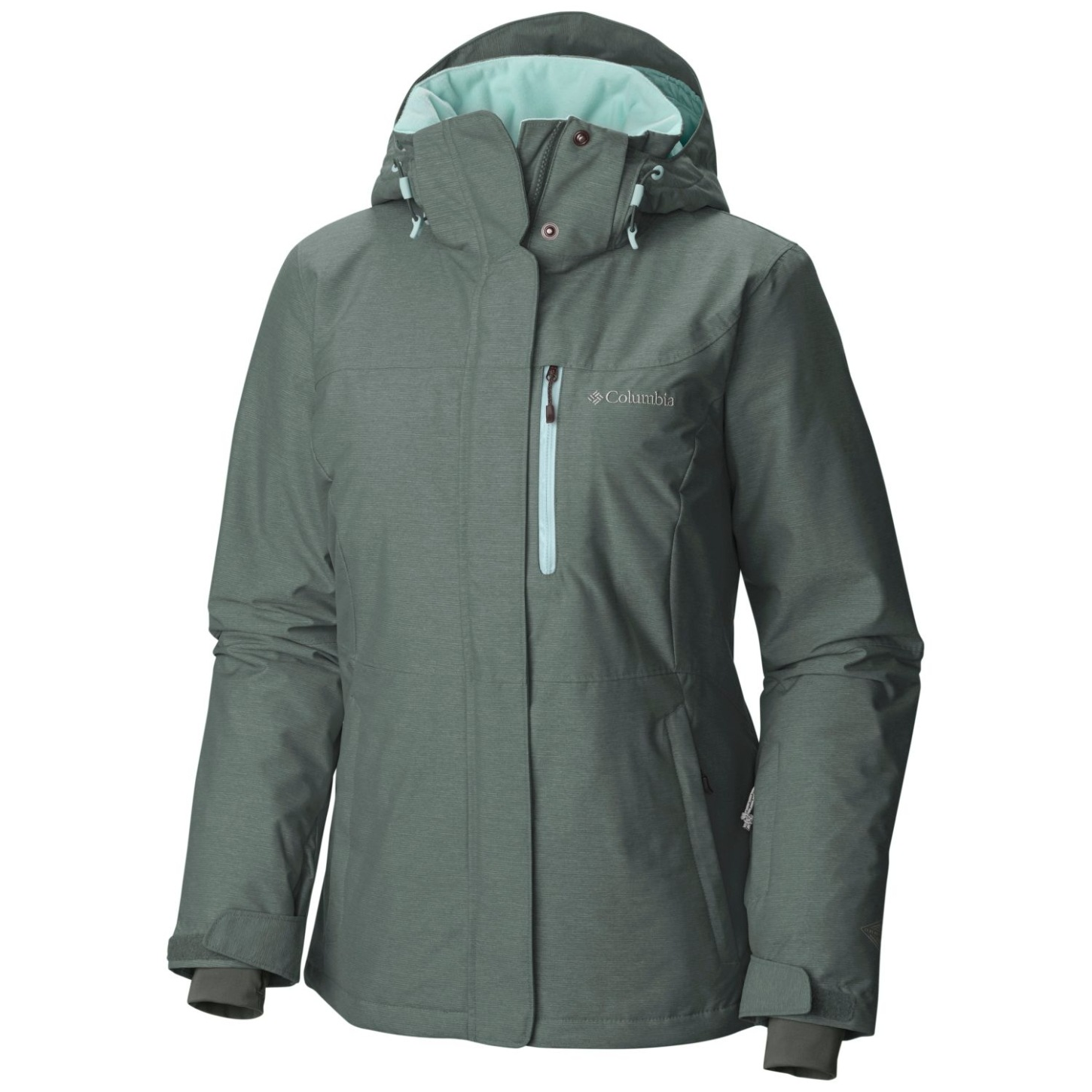 Columbia Jacke Alpine Action Omni-Heat für Damen Pond, Spray-30