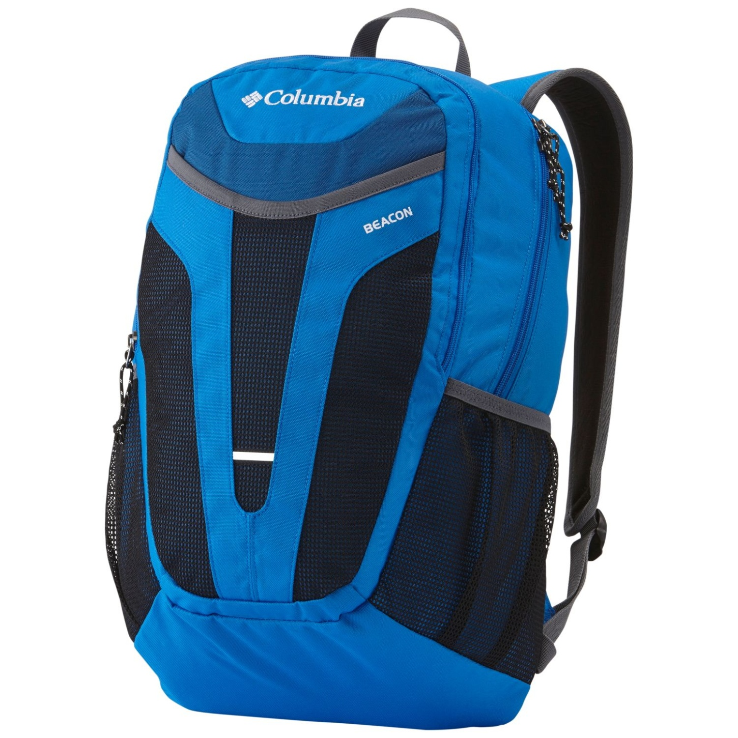 Columbia Beacon Daypack Bag Super Blue, Marine Blue-30