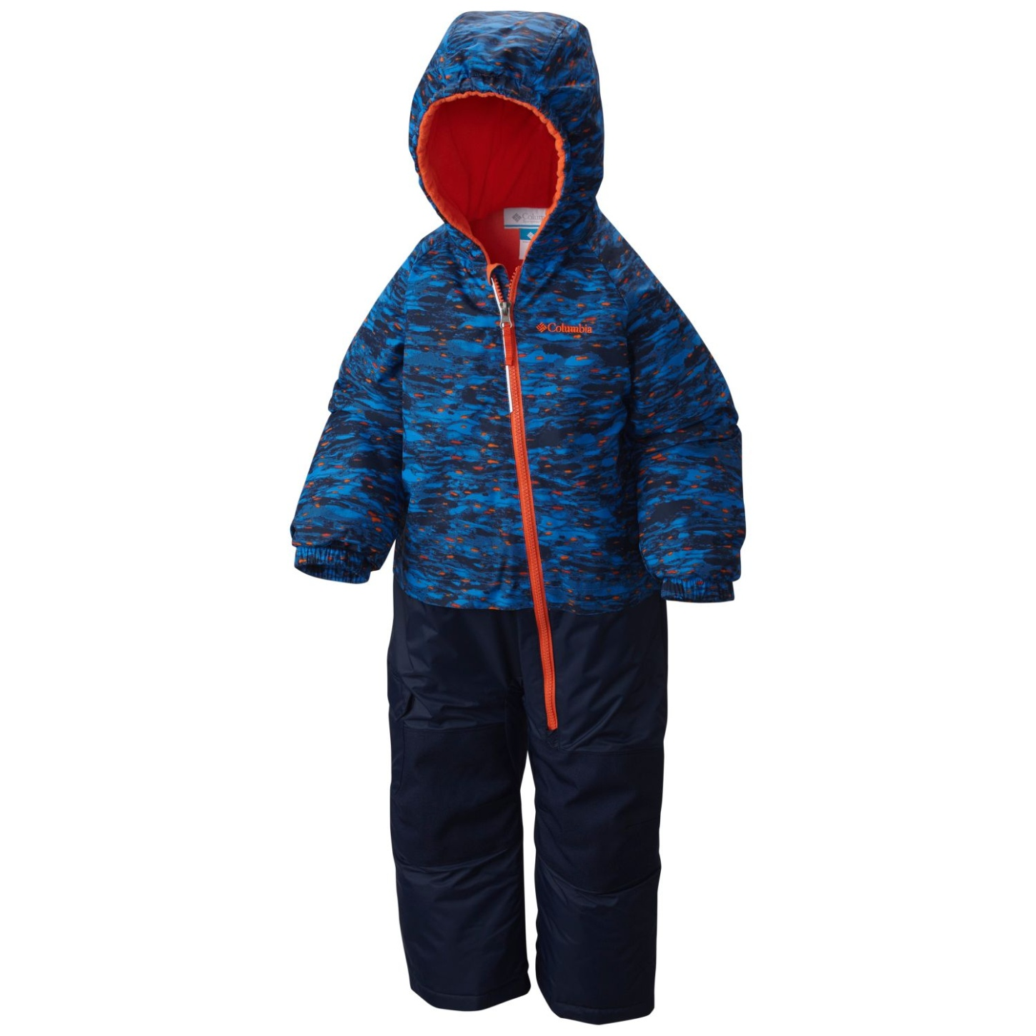 Columbia Boys' Little Dude Suit Super Blue Print-30