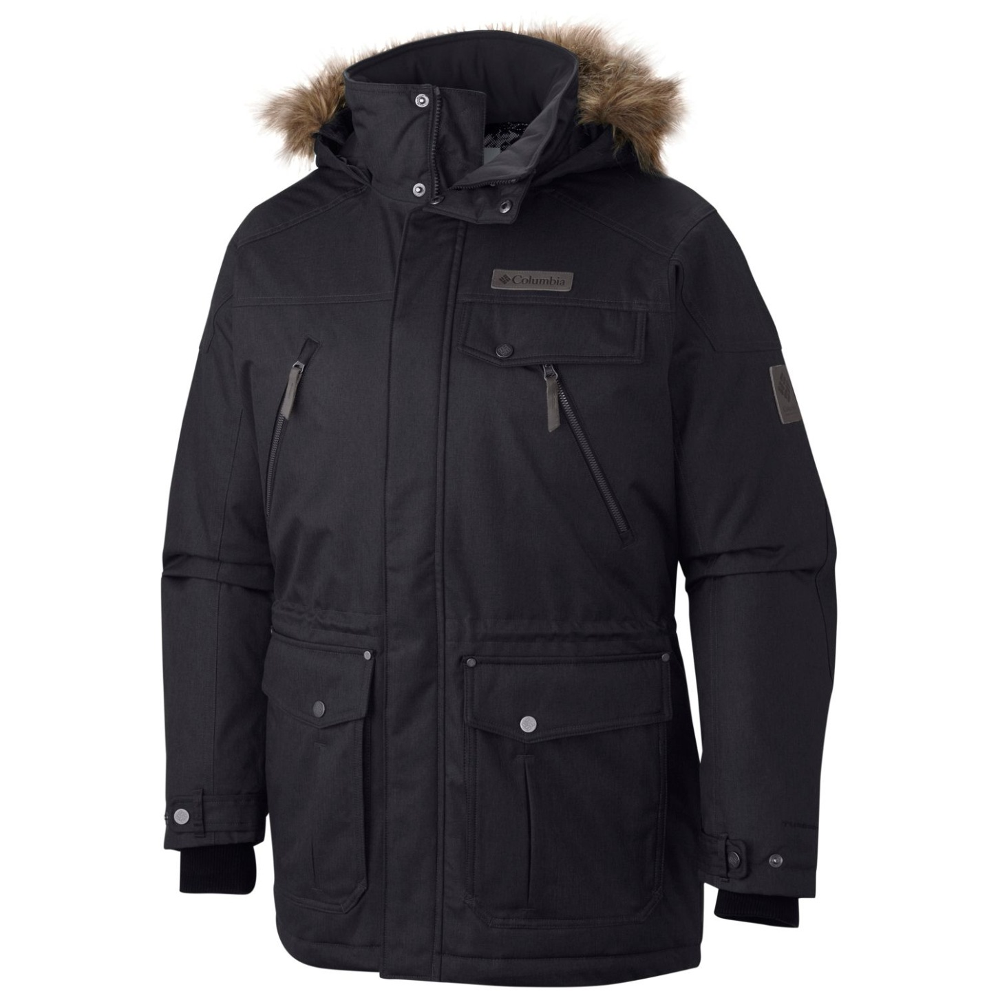 Columbia Jacke Barlow Pass 550 Turbo Down für Herren Black-30