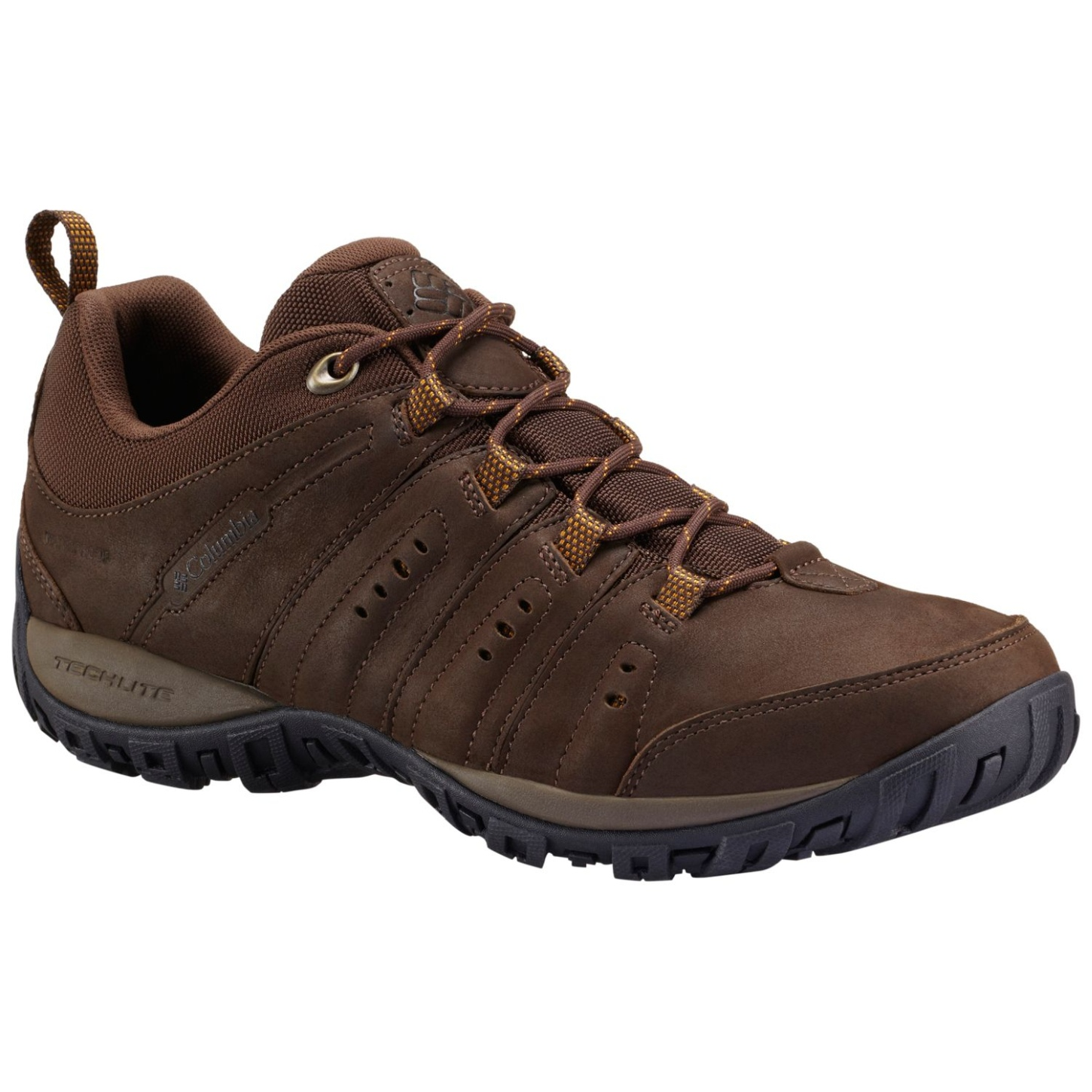Columbia Men's Peakfreak Nomad Plus Waterproof Shoes Cordovan, Squash-30