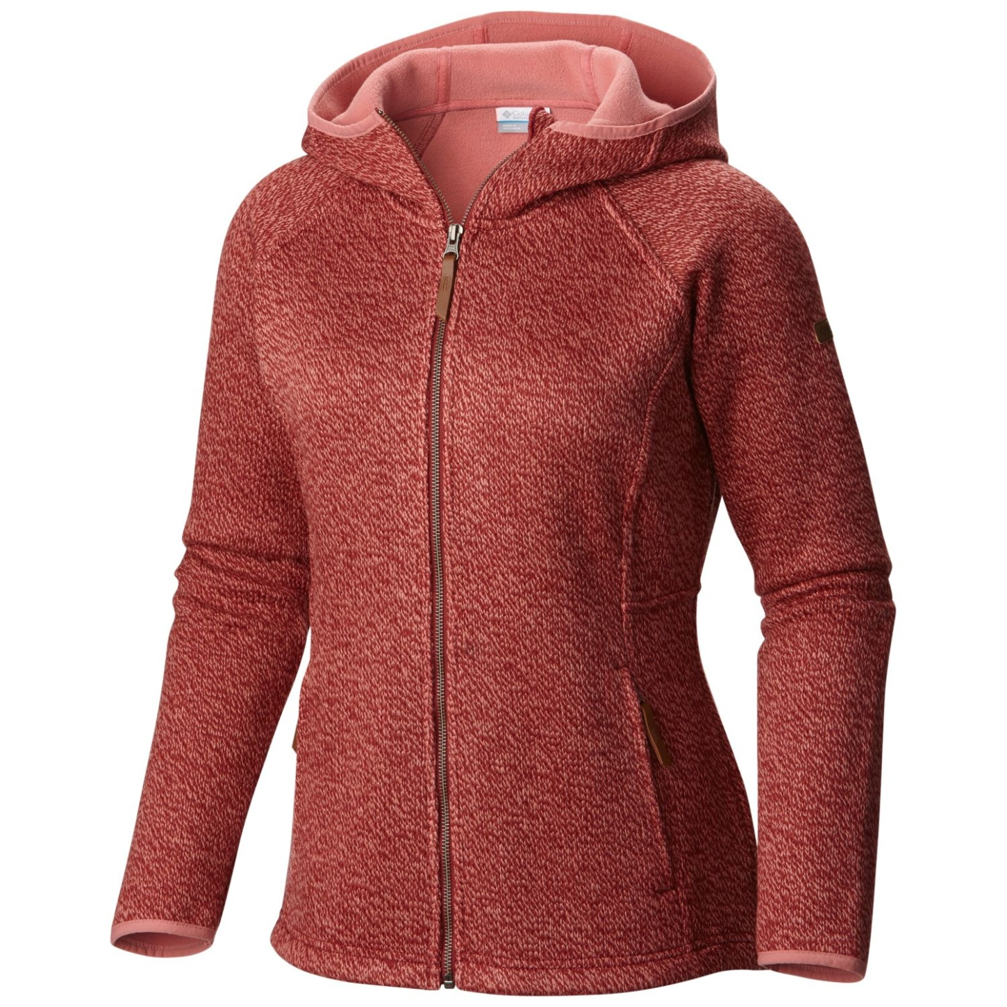 Columbia Women's Canyons Bend FZ Hoodie Marsala Red-30