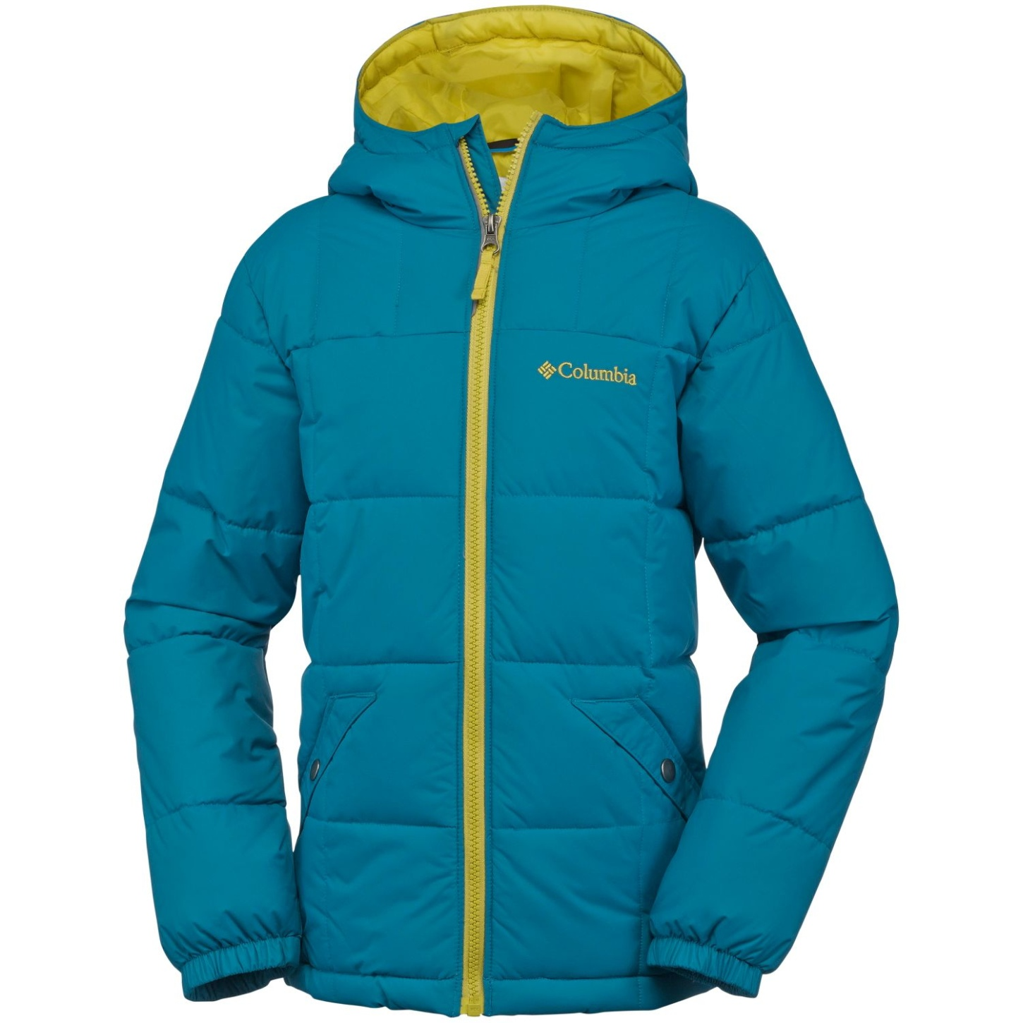 Columbia Boys' Gyroslope Jacket Deep Marine-30