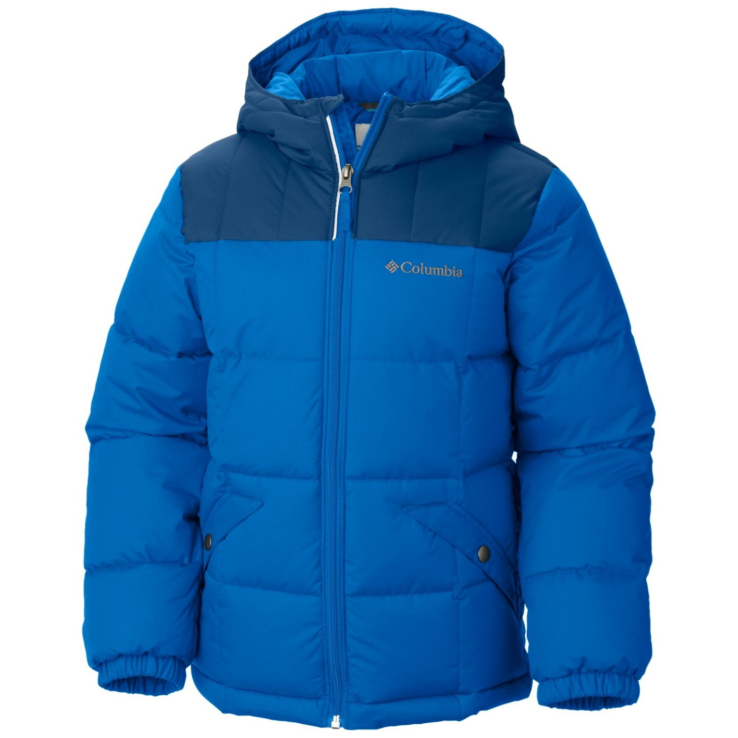 Columbia Boys' Gyroslope Jacket Super Blue-30