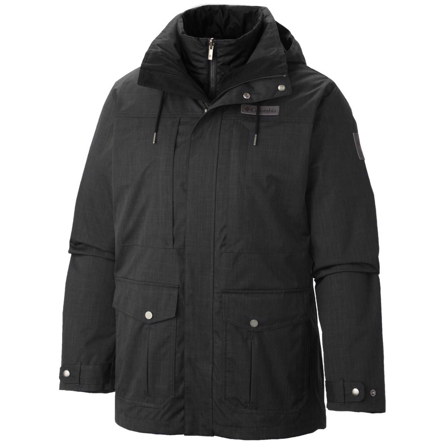 Columbia Men's Horizons Pine Interchange Jacket Black-30