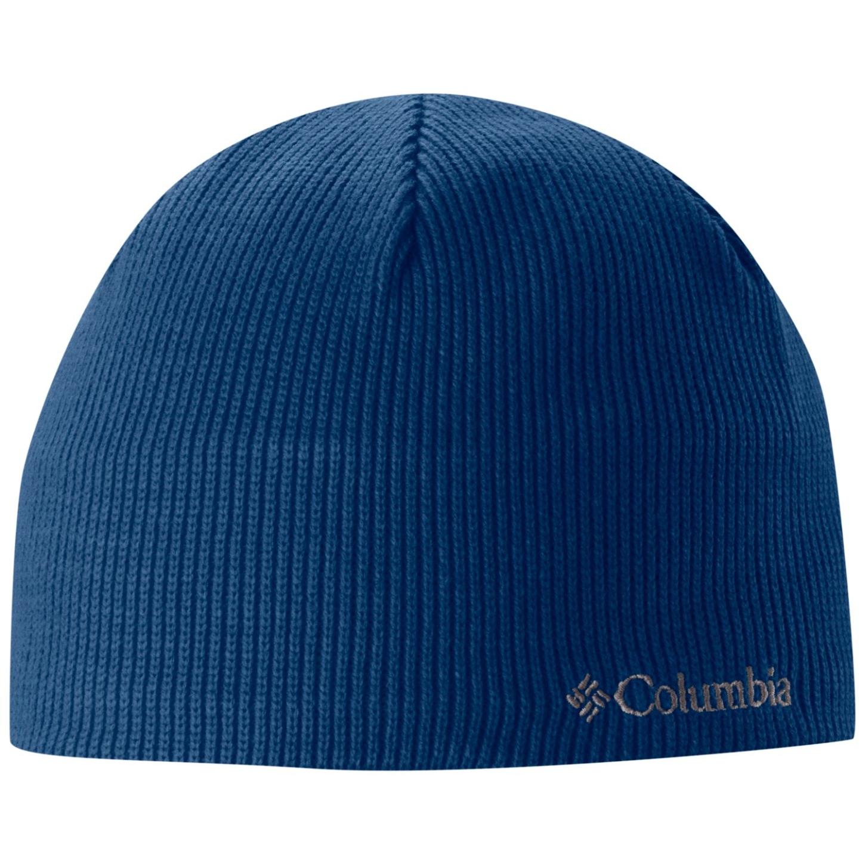 Columbia Bugaboo Beanie Hat Marine Blue-30