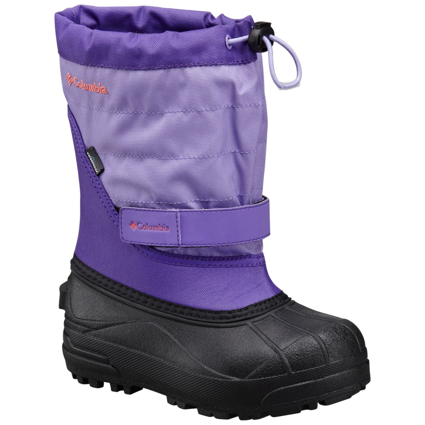 Columbia Girls' Powderbug Plus II Snow Boot Emperor, Melonade-30