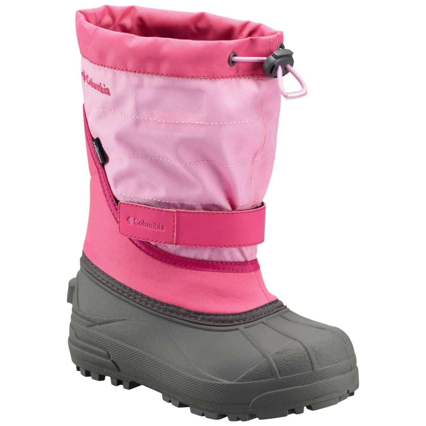 Columbia Girls' Powderbug Plus II Snow Boot Glamour, Orchid-30