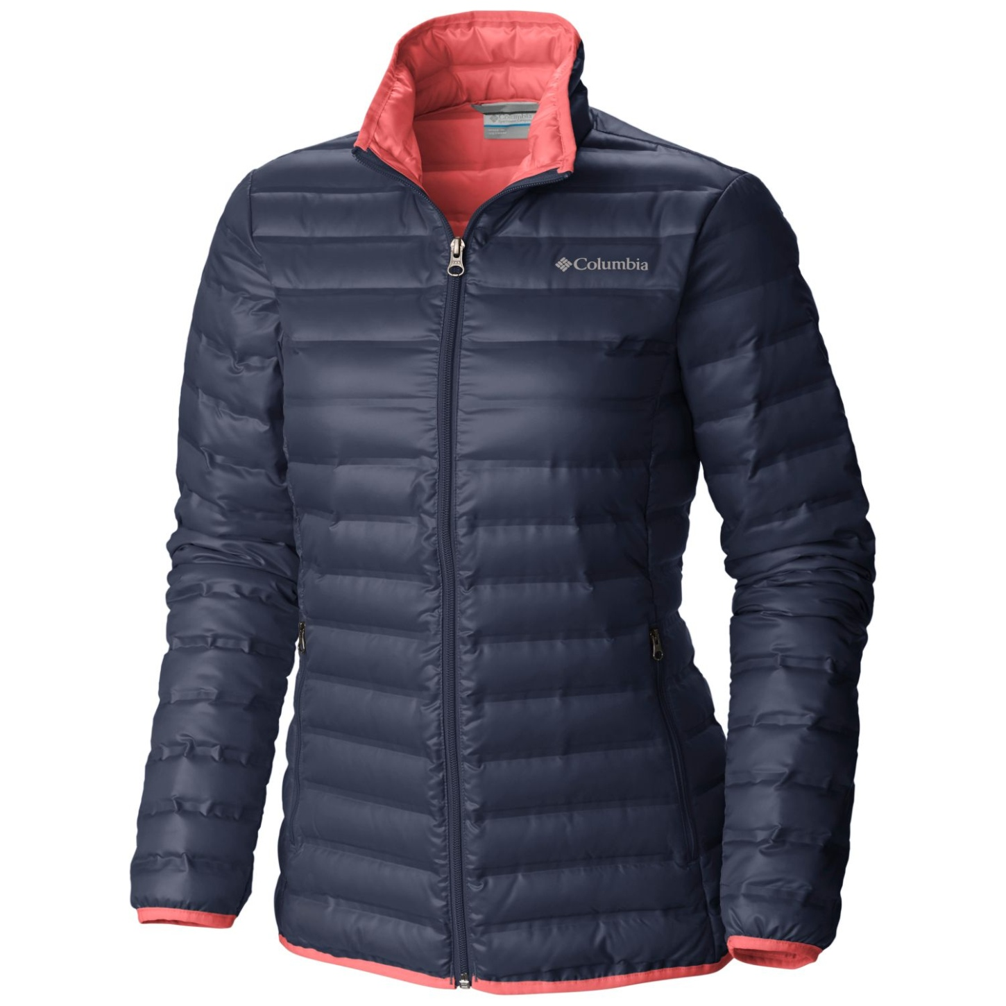 Columbia Women's Flash Forward Down Jacket Nocturnal, Hot Coral-30