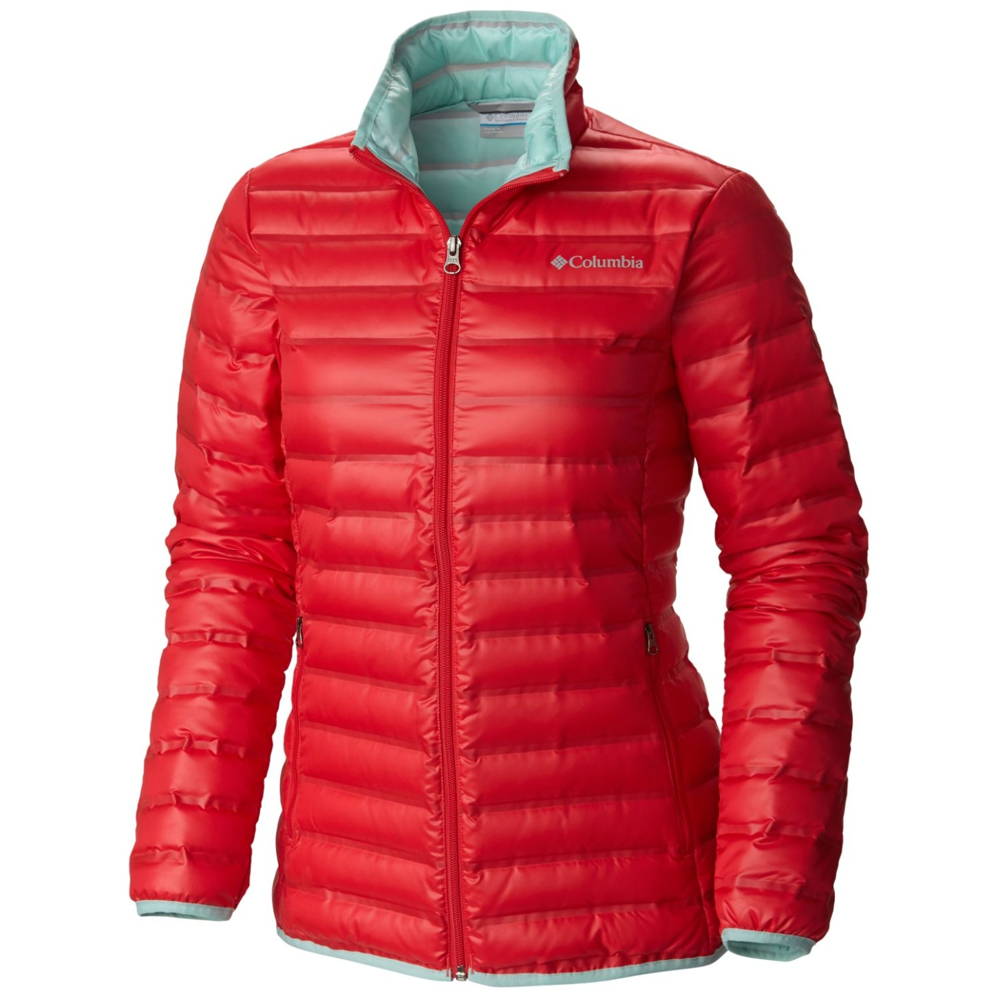Columbia Women's Flash Forward Down Jacket Red Camellia, Spray-30