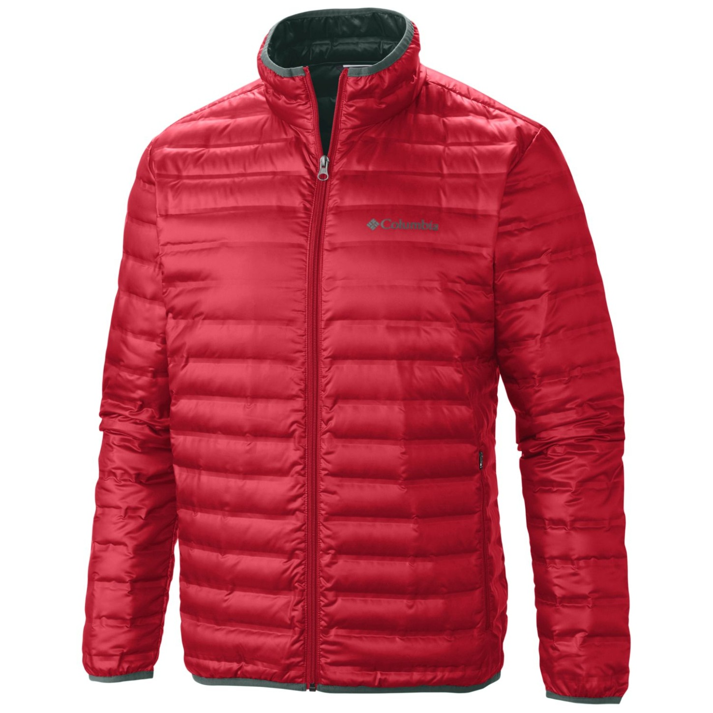 Columbia Men's Flash Forward Down Jacket Mountain Red-30