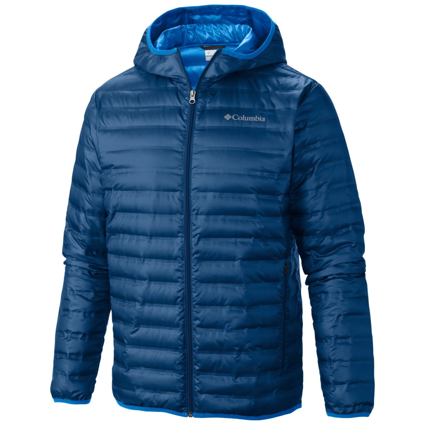 Columbia Men's Flash Forward Down Hooded Jacket Super Blue-30