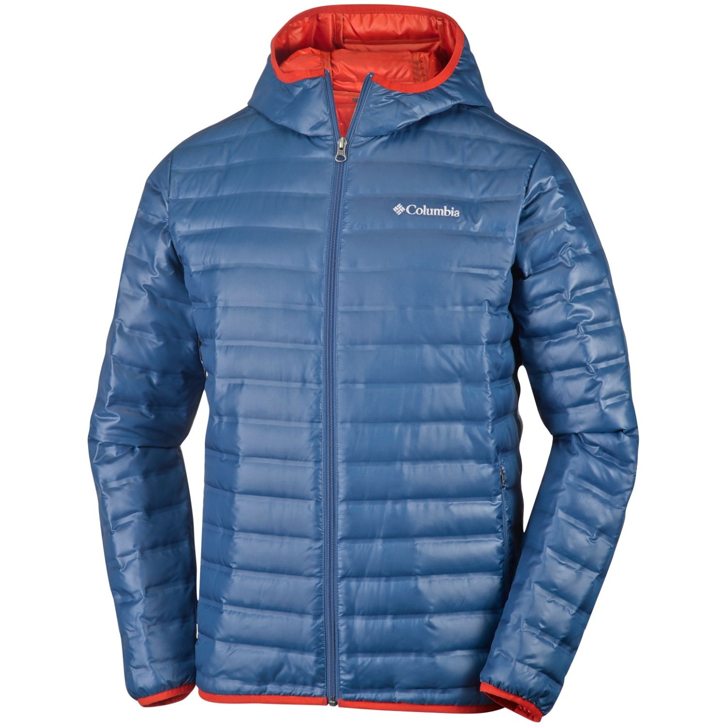 Columbia Men's Flash Forward Down Hooded Jacket Night Tide-30