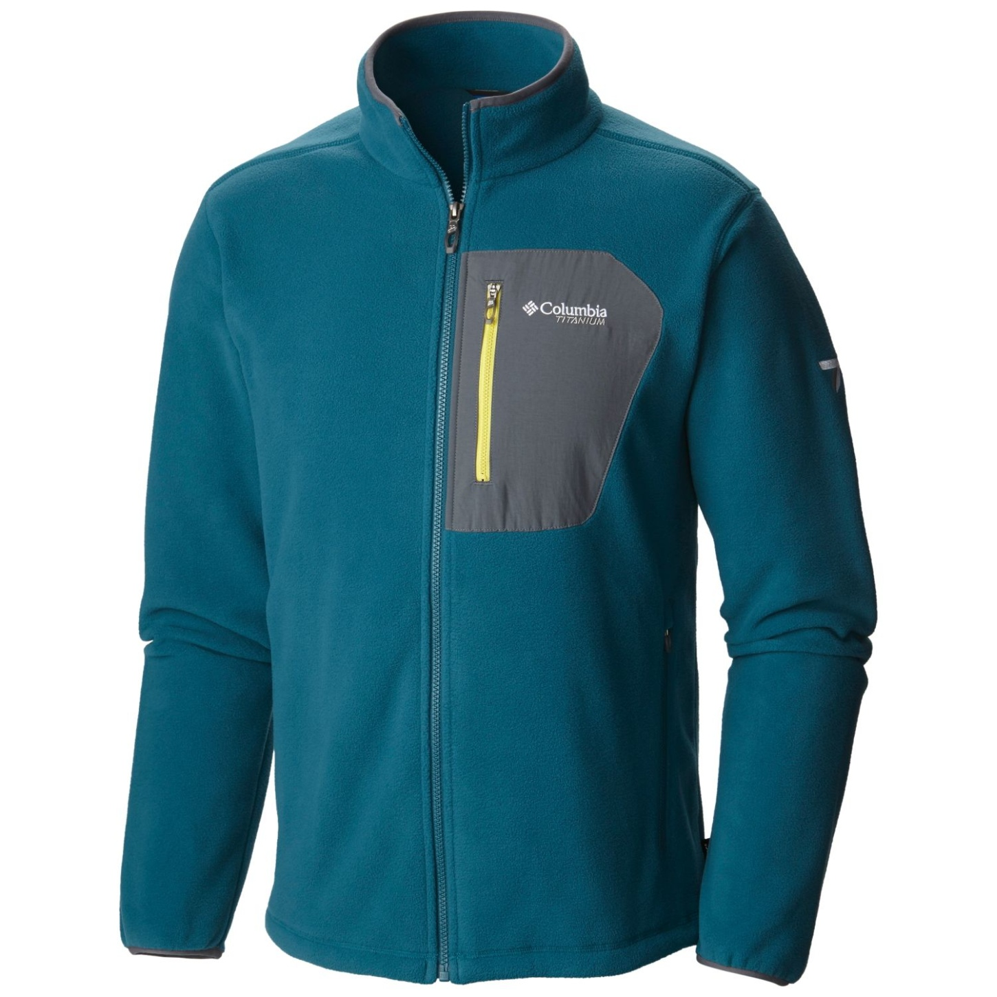 Columbia Men's Titan Pass 2.0 Fleece Jacket Deep Water-30