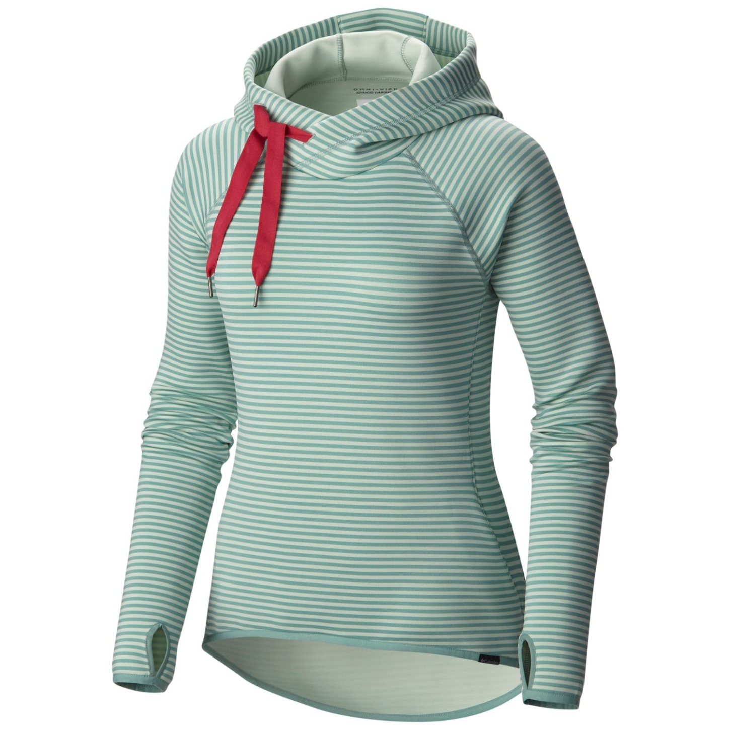 Columbia Women's Castella Peak Hoodie Dusty Green, Spray-30