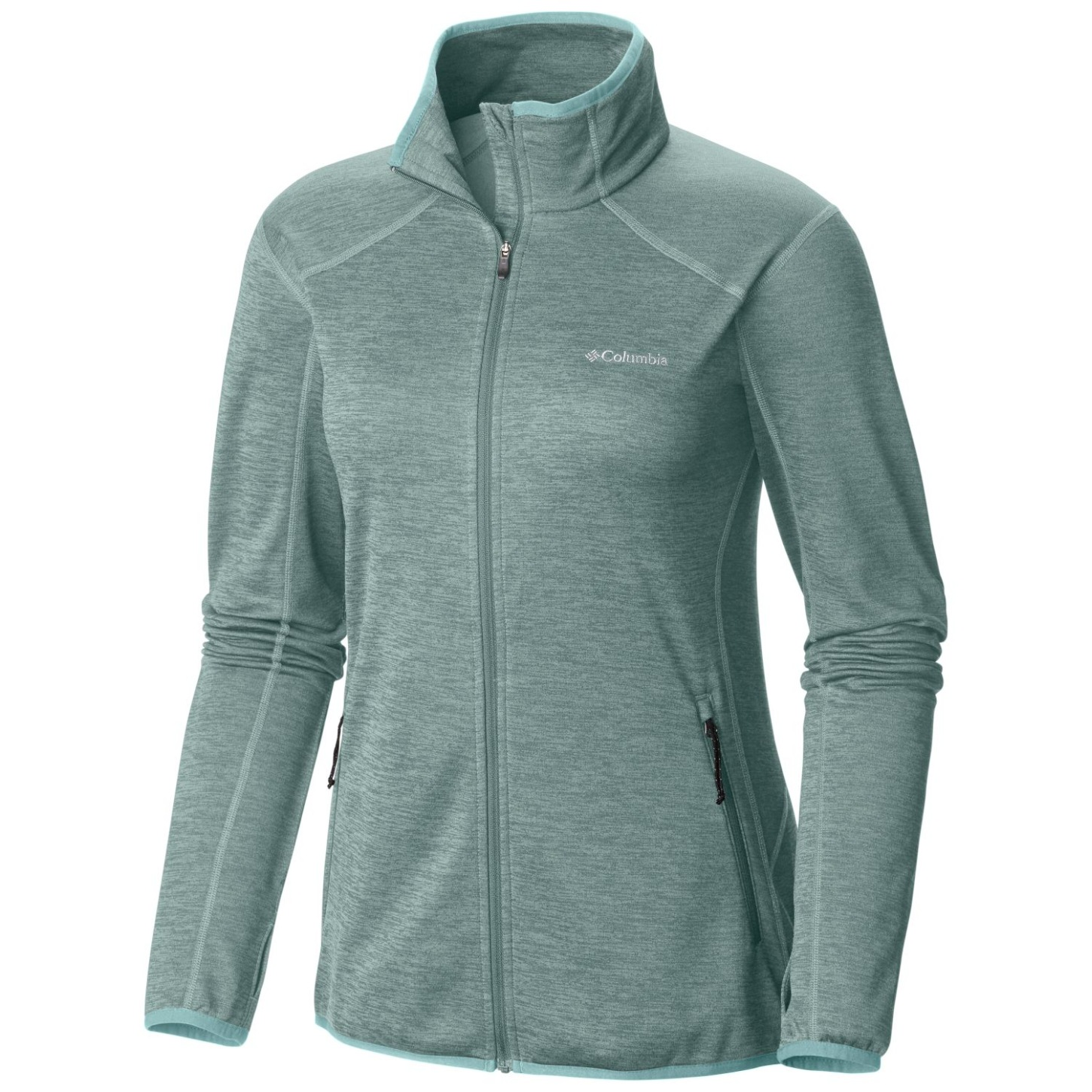 Columbia Women's Sapphire Trail Fleecejacke Dusty Green-30