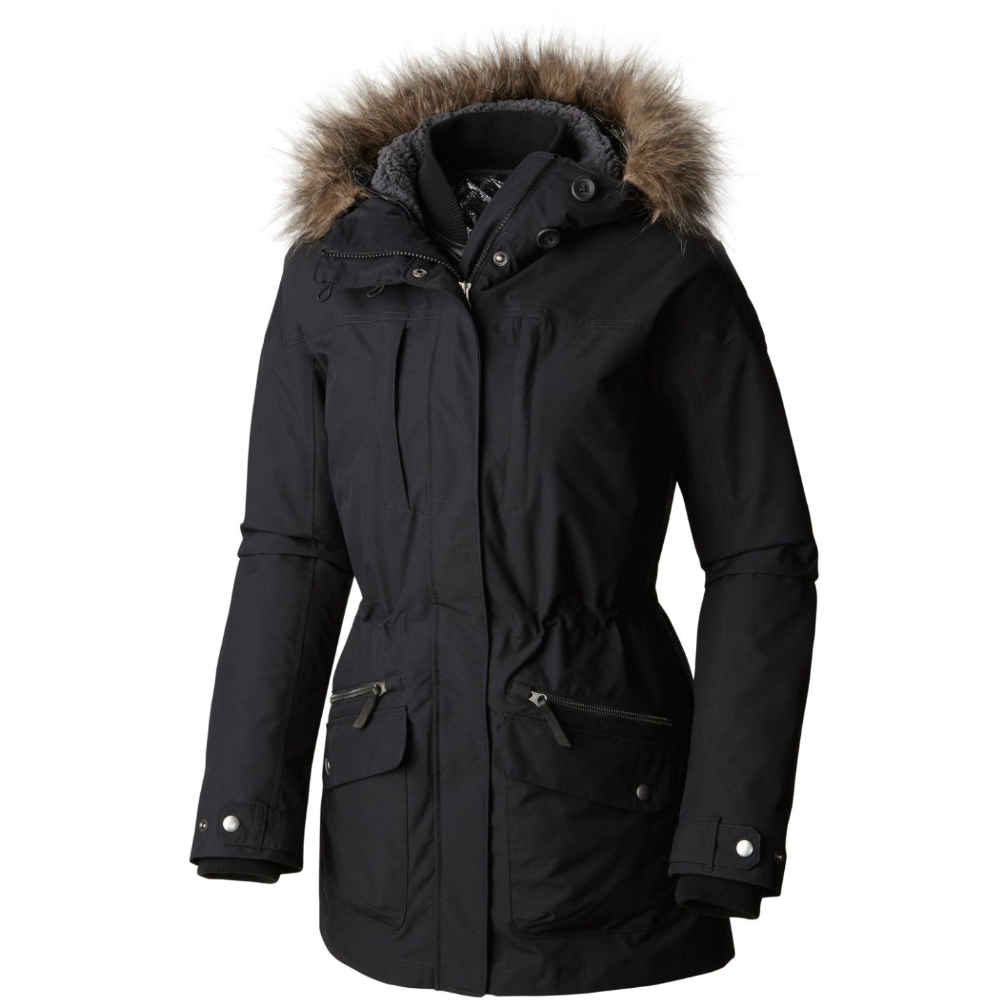 Columbia Women's Carson Pass Interchange Jacket Black-30