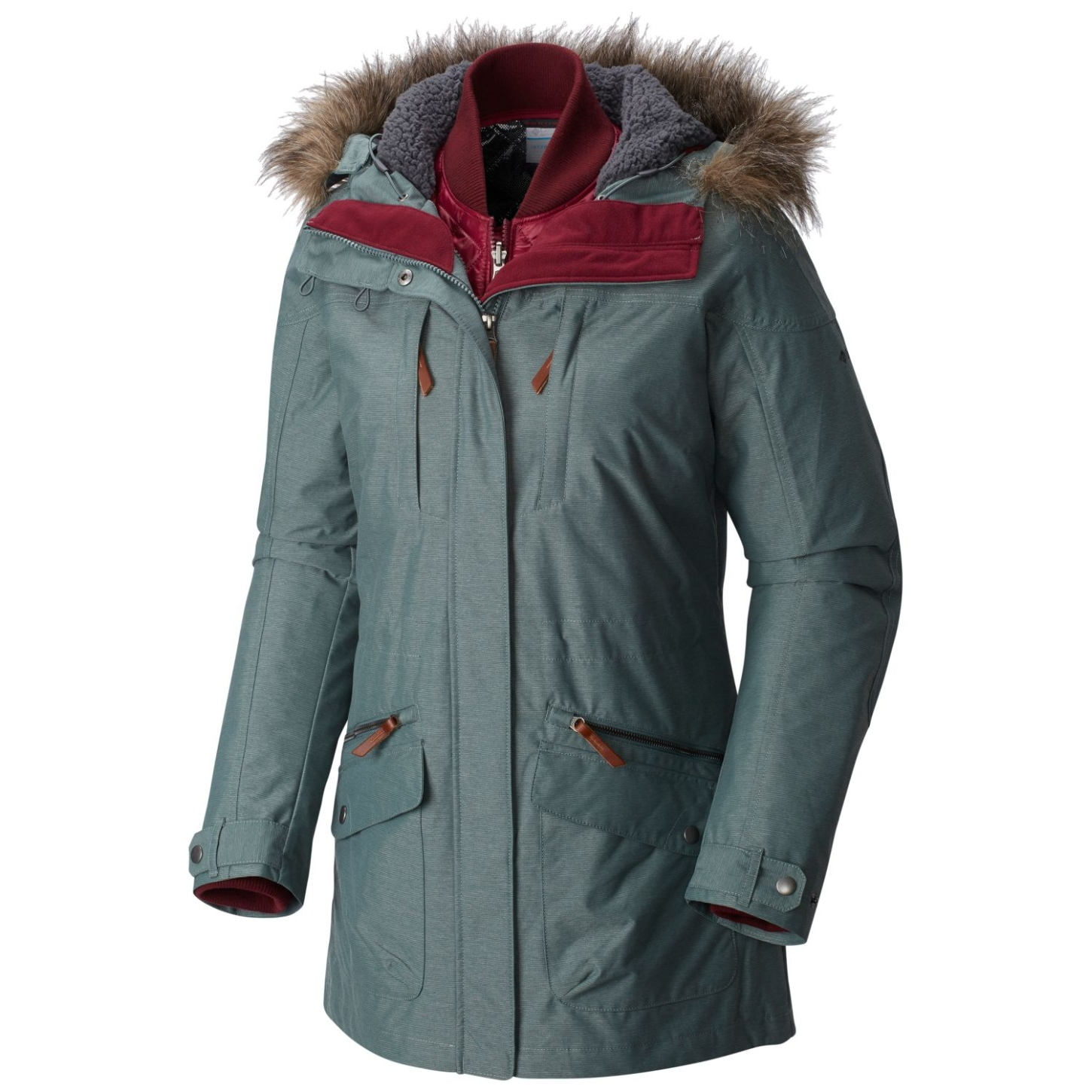 Columbia variable Jacke Carson Pass für Damen Pond-30