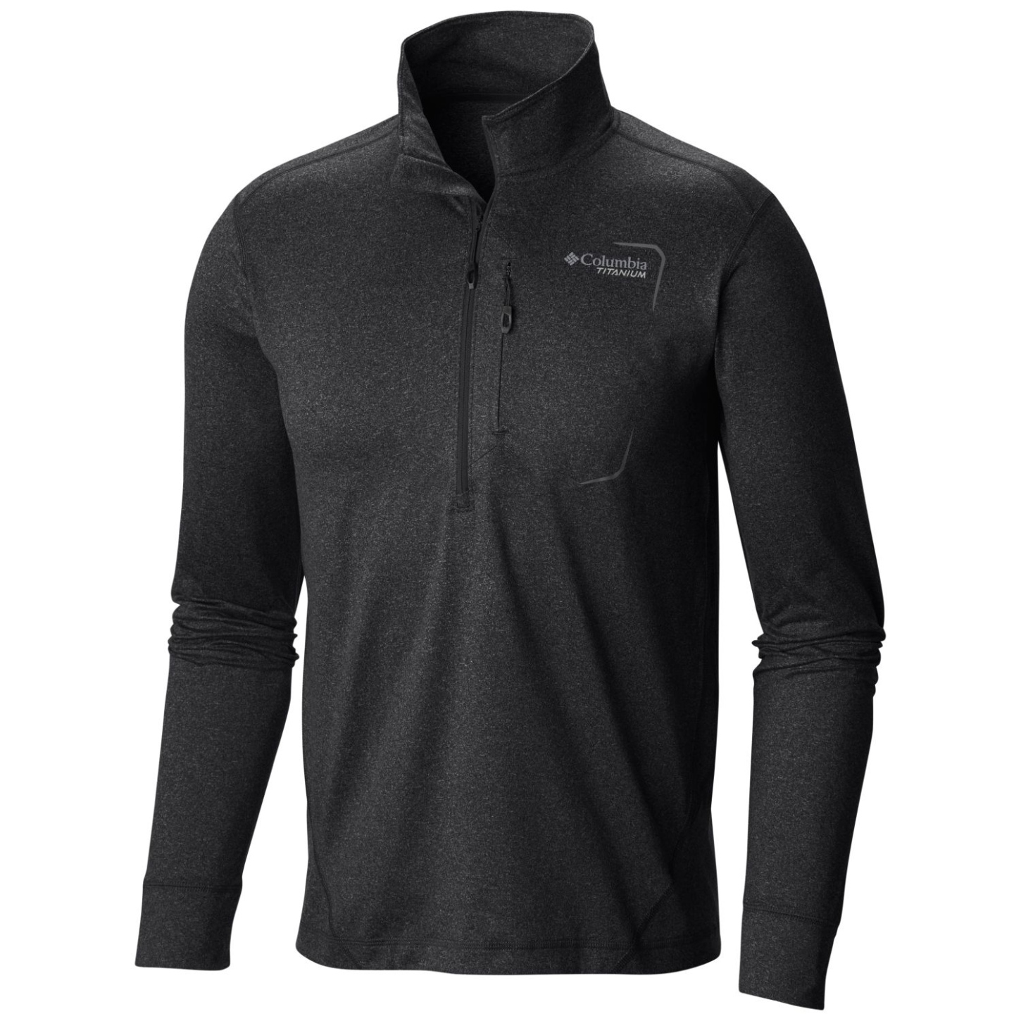 Columbia Men's Diamond Peak Half Zip Top Black-30