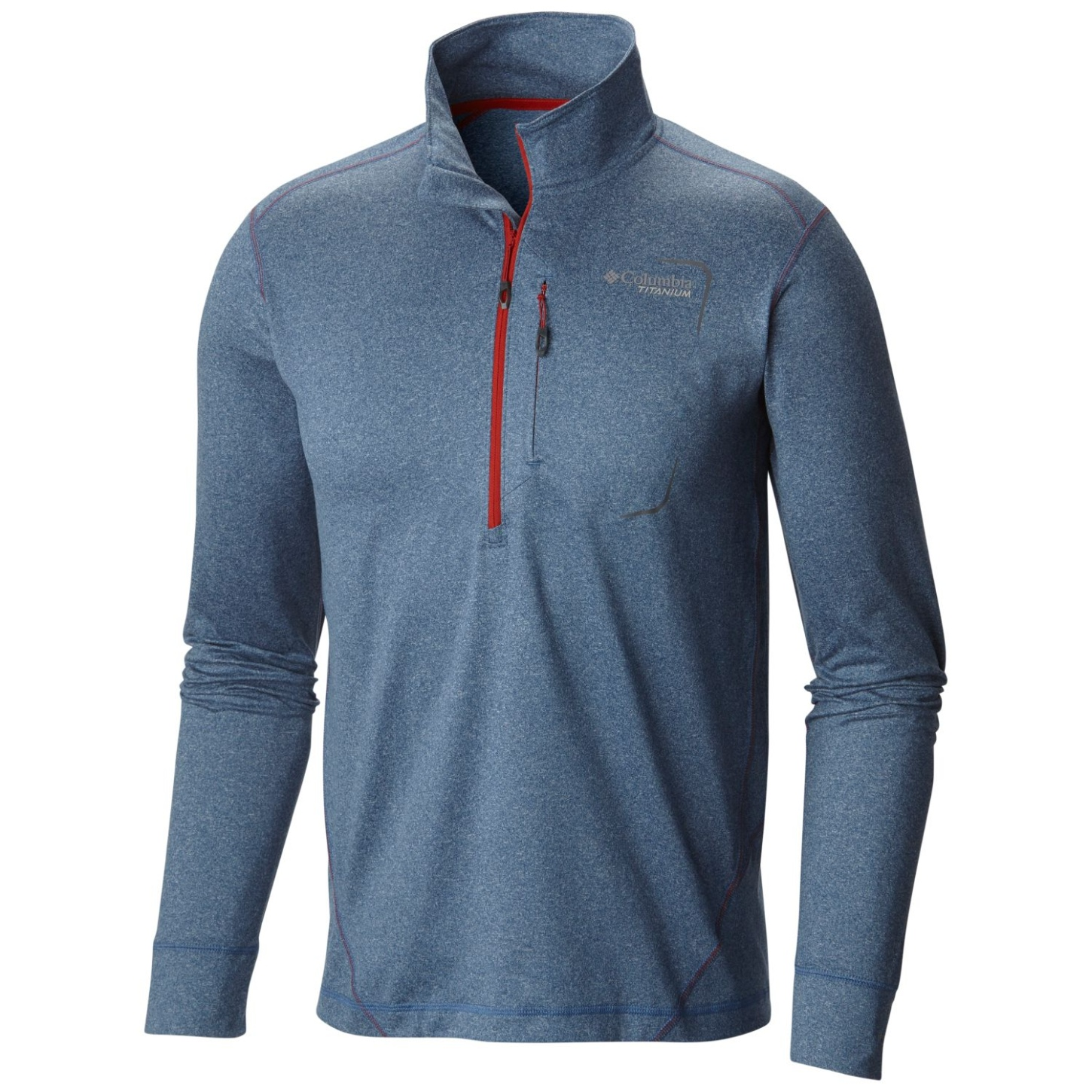 Columbia Men's Diamond Peak Half Zip Top Night Tide-30