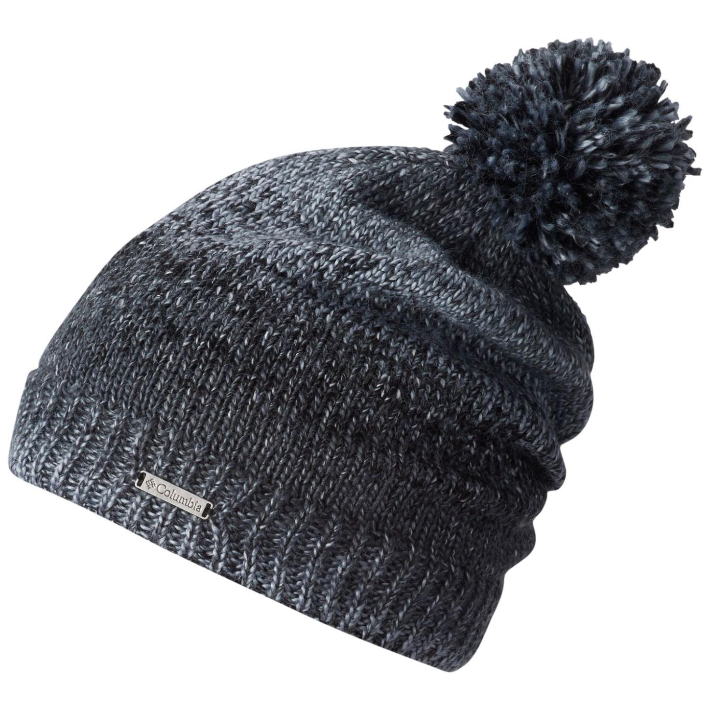 Columbia Rocky Range Beanie Hat Black-30