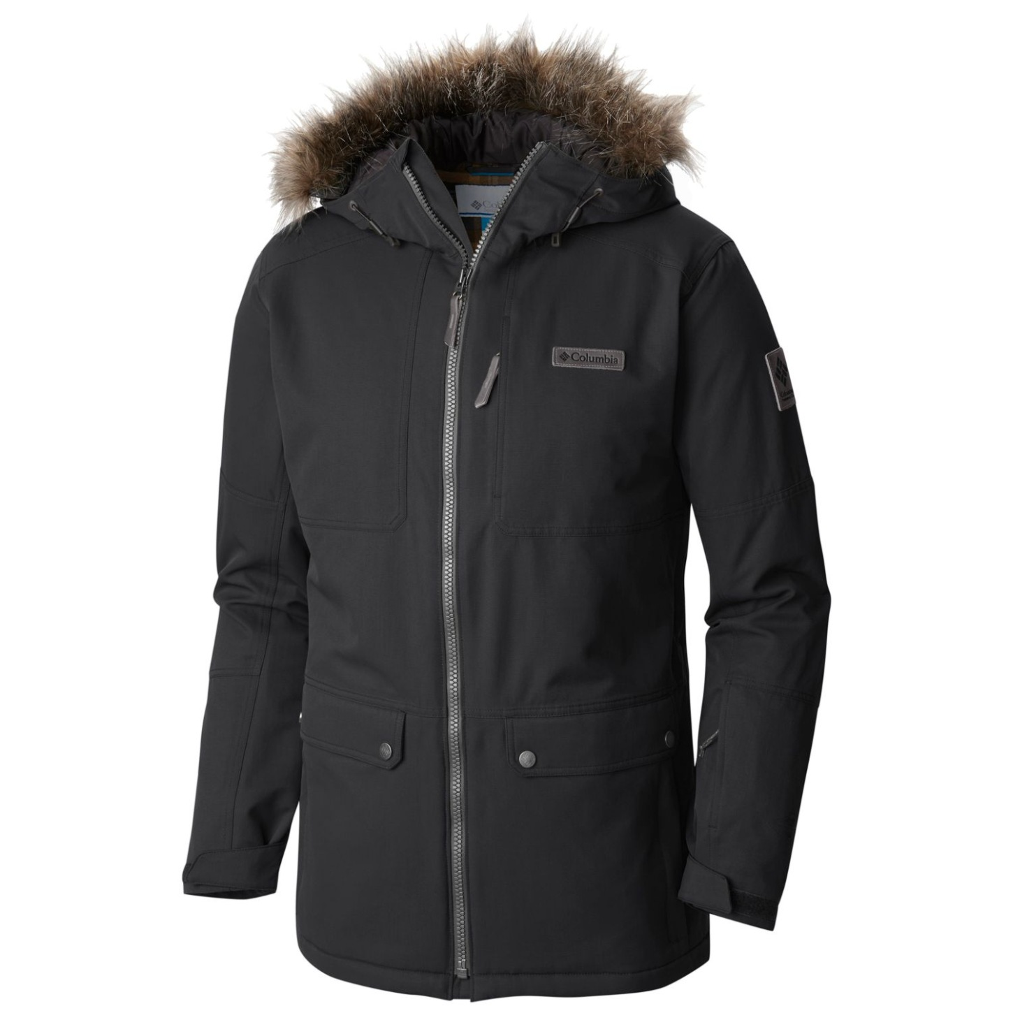 Columbia Men's Catacomb Crest Ski Parka Black-30