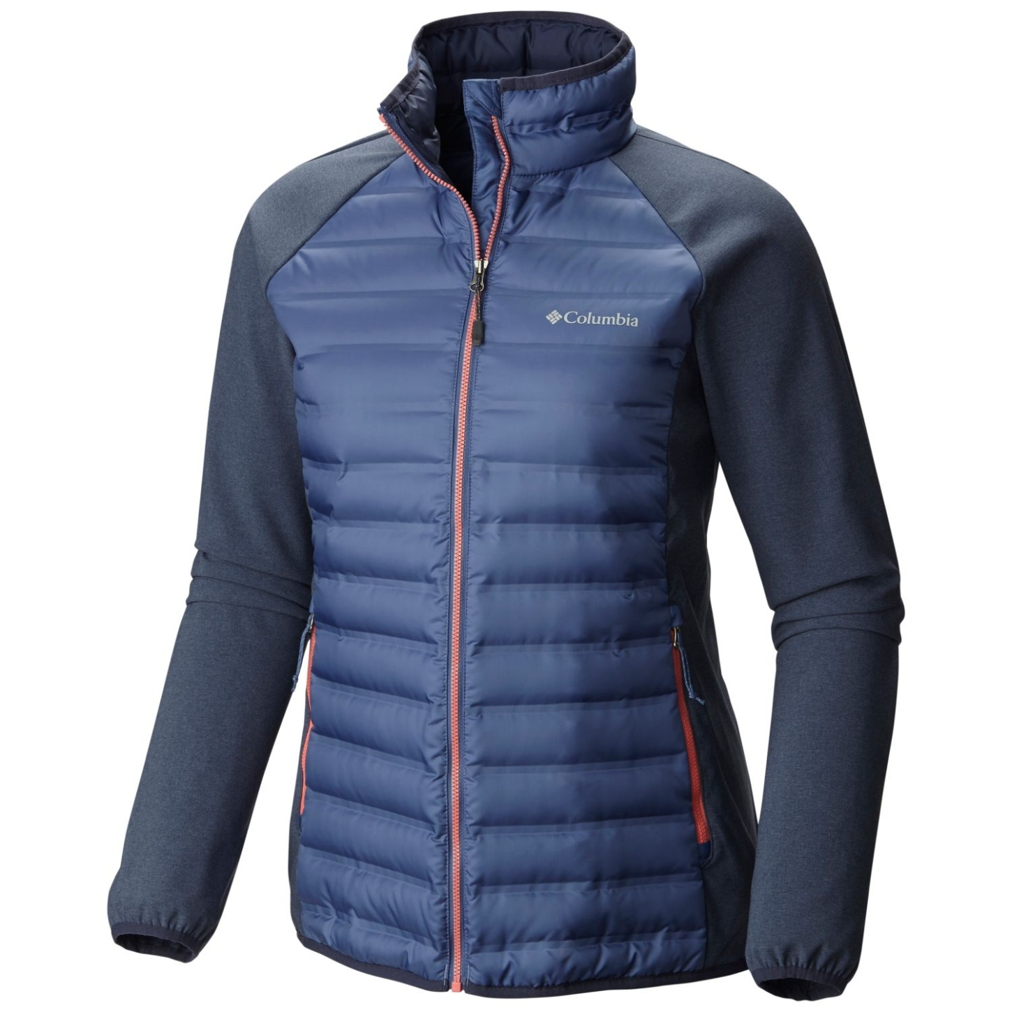 Columbia Women's Flash Forward Hybrid Jacket Bluebell, Nocturnal-30
