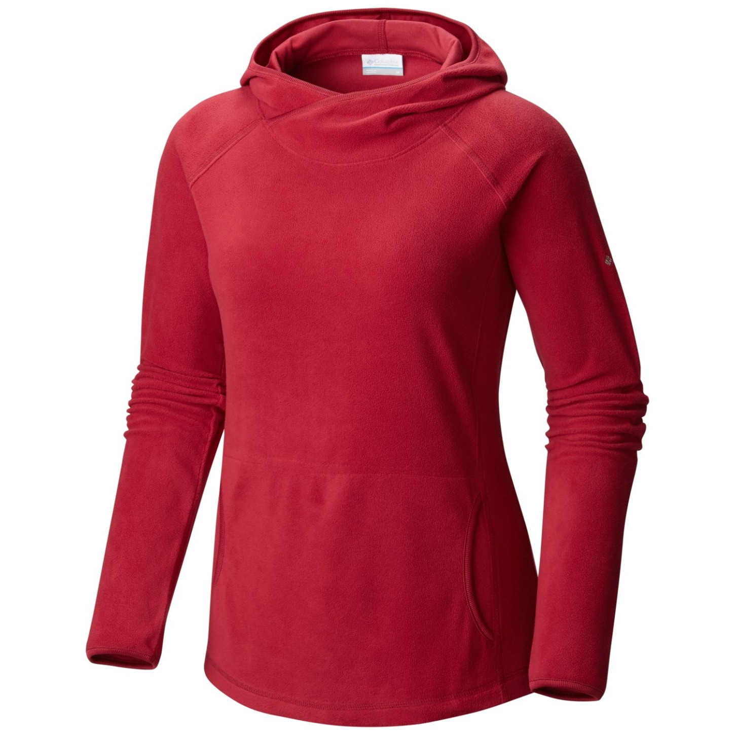 Columbia Women's Glacial Fleece IV Hoodie Red Orchid-30