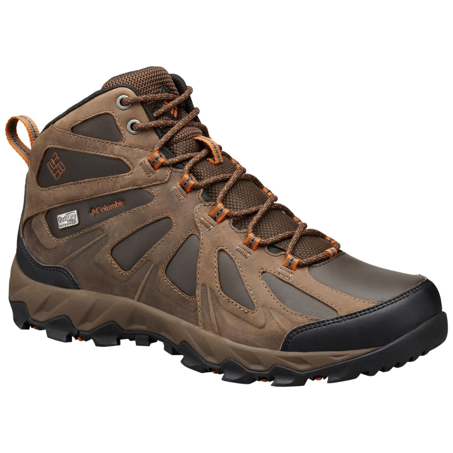 Columbia Men's Peakfreak XCRSN II Mid Leather Outdry® Shoes Cordovan, Bright Copper-30