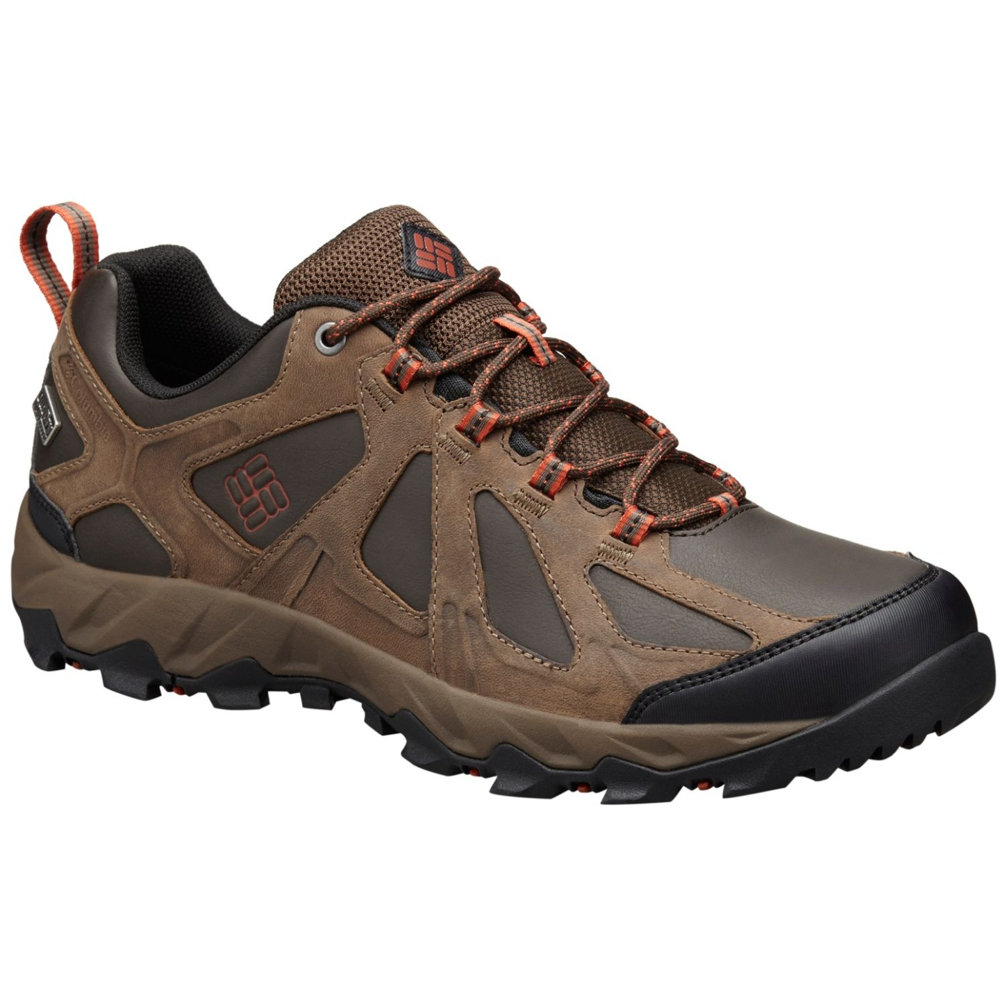 Columbia Peakfreak XCRSN II Low Leather Outdry® Schuhe für Herren Cordovan, Sanguine-30