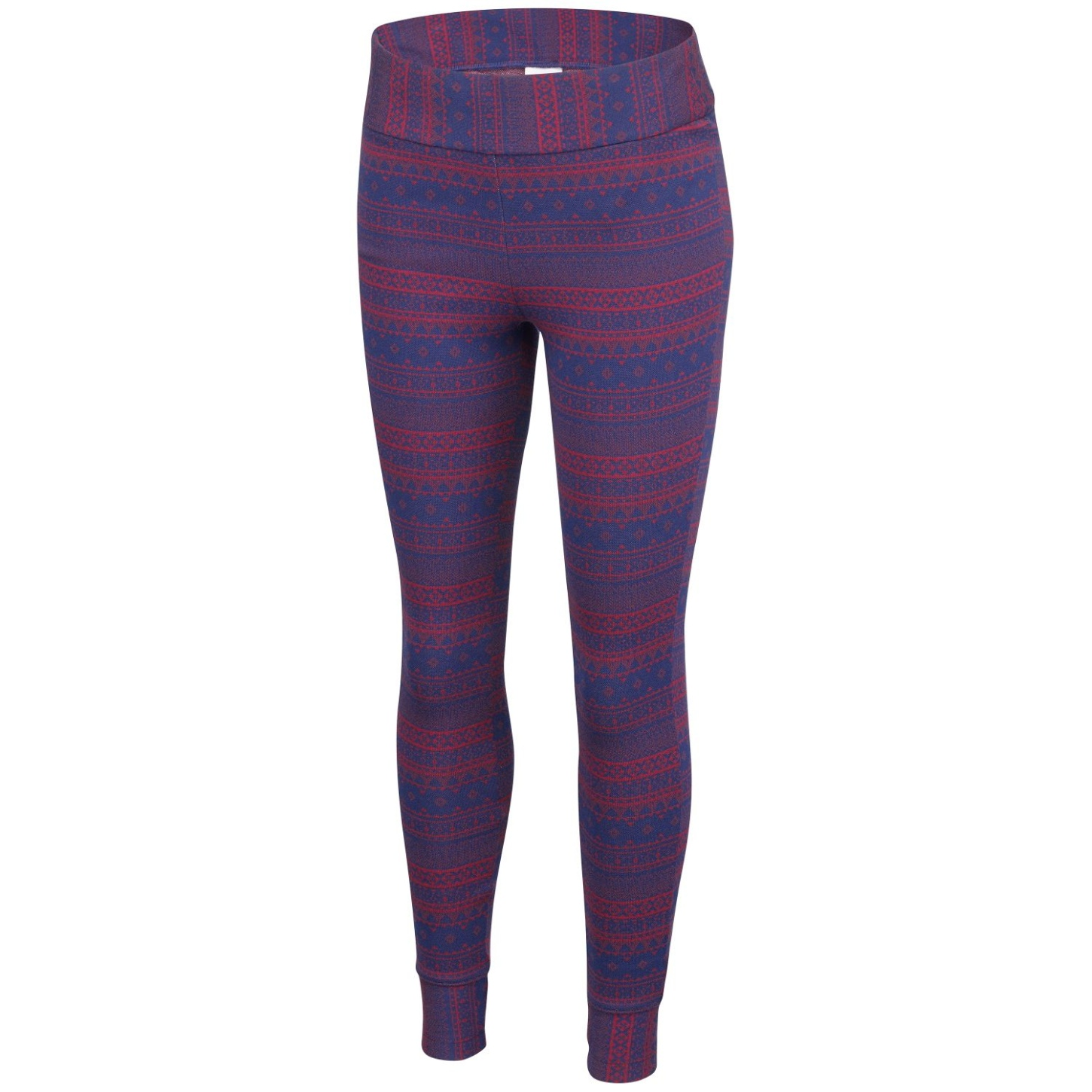Columbia Women's Aspen Lodge Jacquard Leggings Marsala Red Jacquard-30