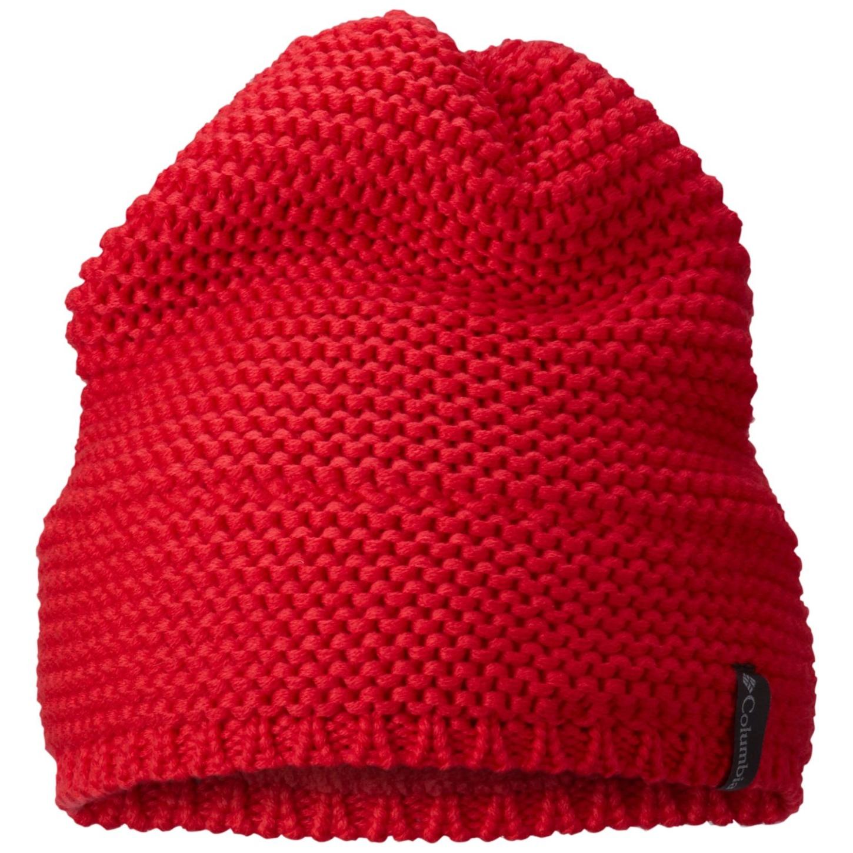 Columbia Mütze Cascade Peak Red Camellia-30