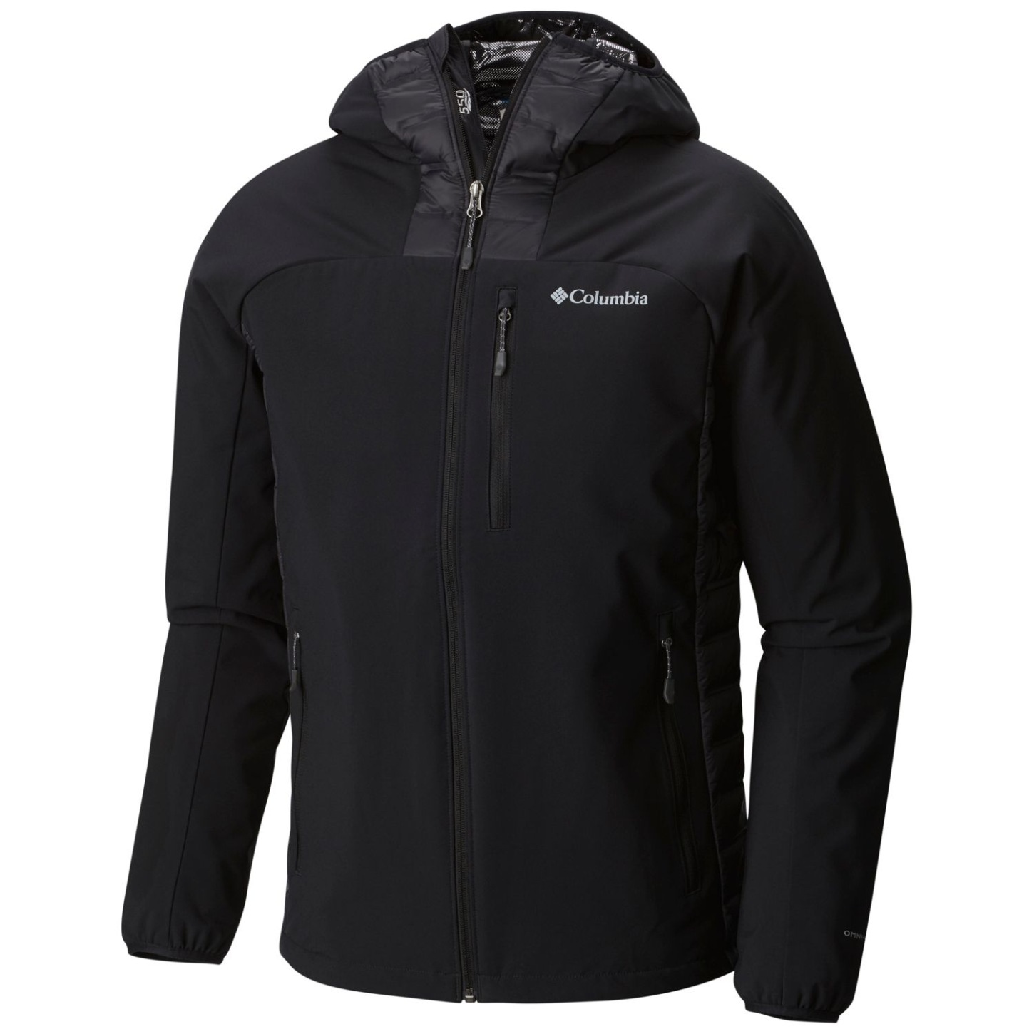 Columbia Men's Dutch Hollow Hybrid Jacket Black-30