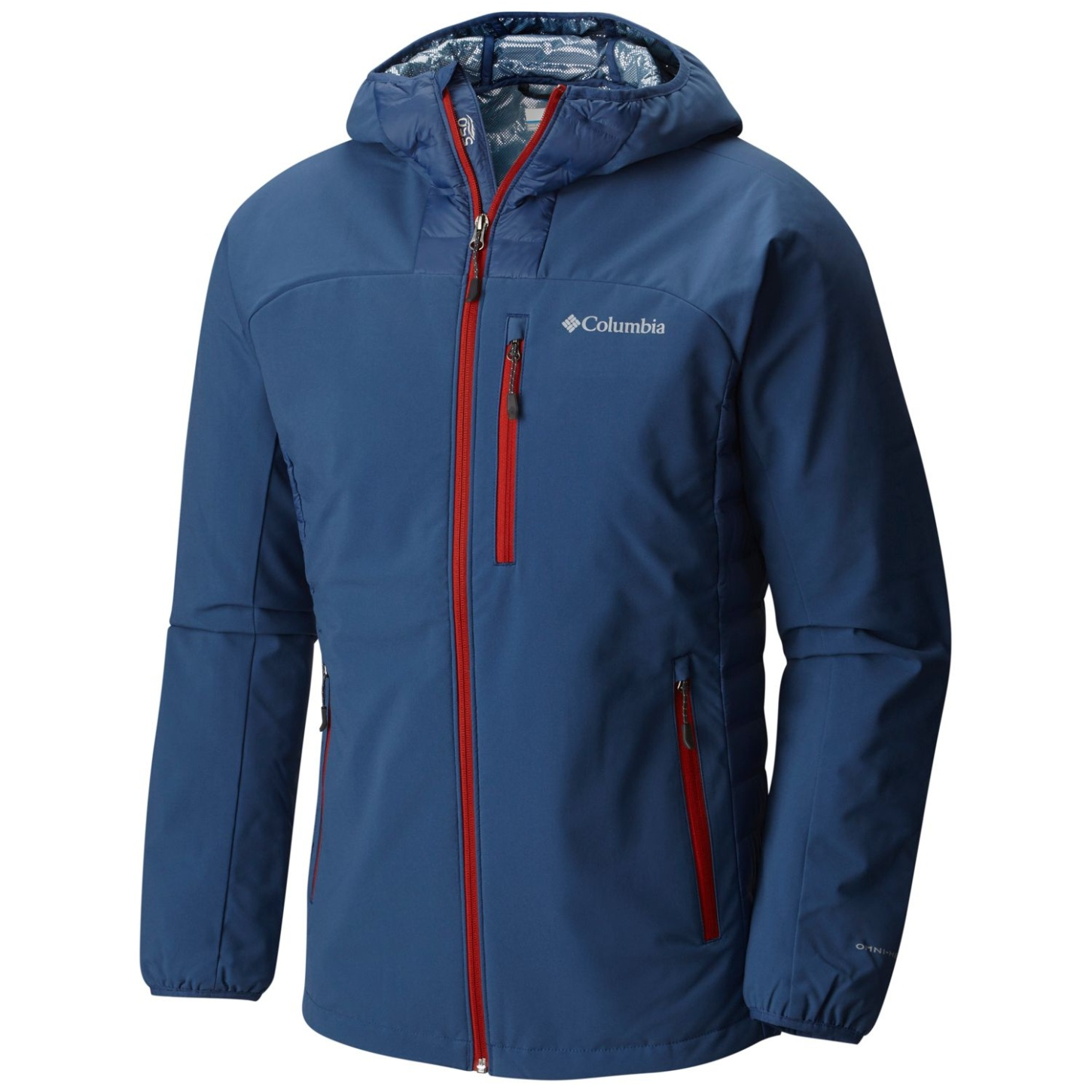 Columbia Hybrid-Jacke Dutch Hollow für Männer Night Tide, Steel-30
